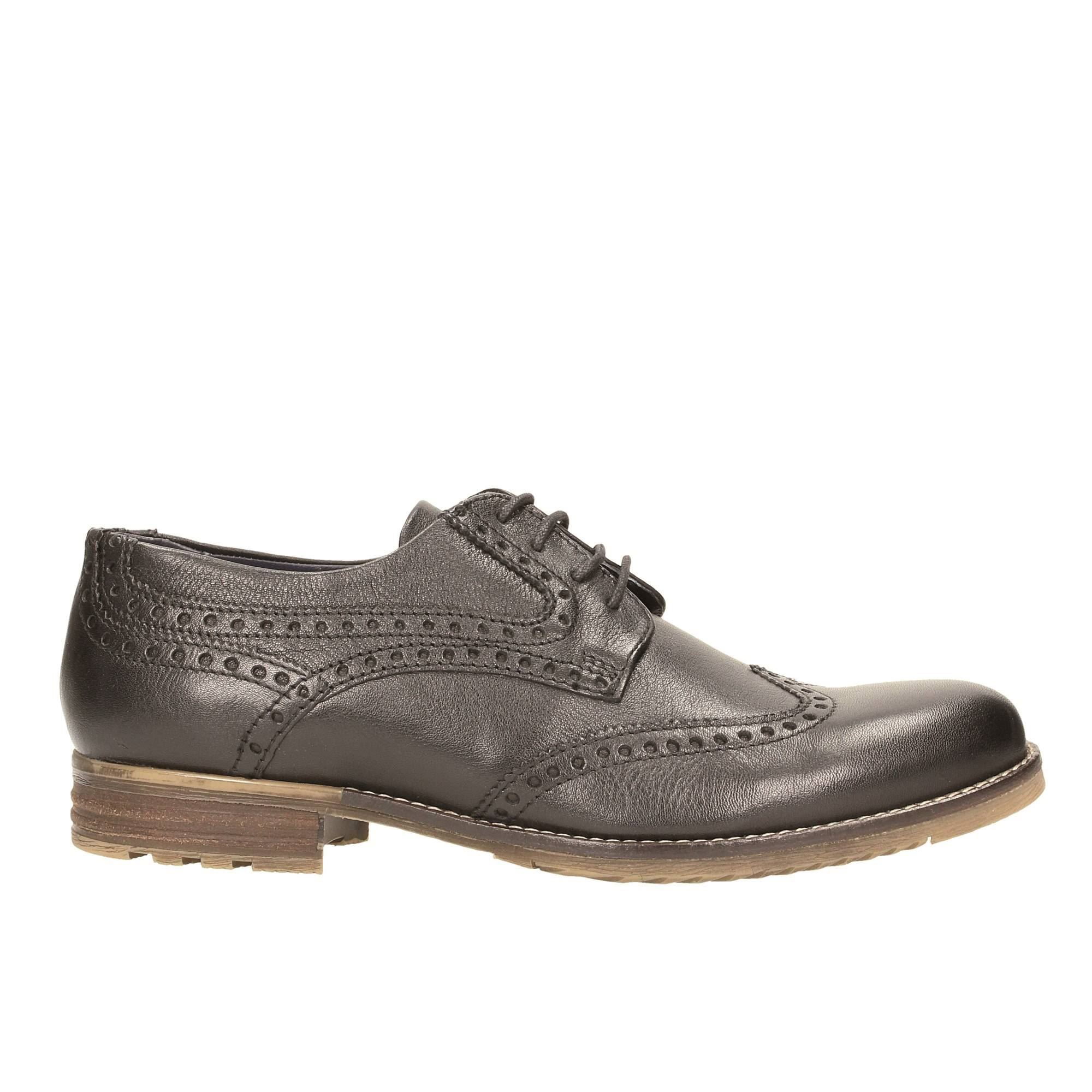Tata Italia Shoes Man Derby Nero 15435/I17