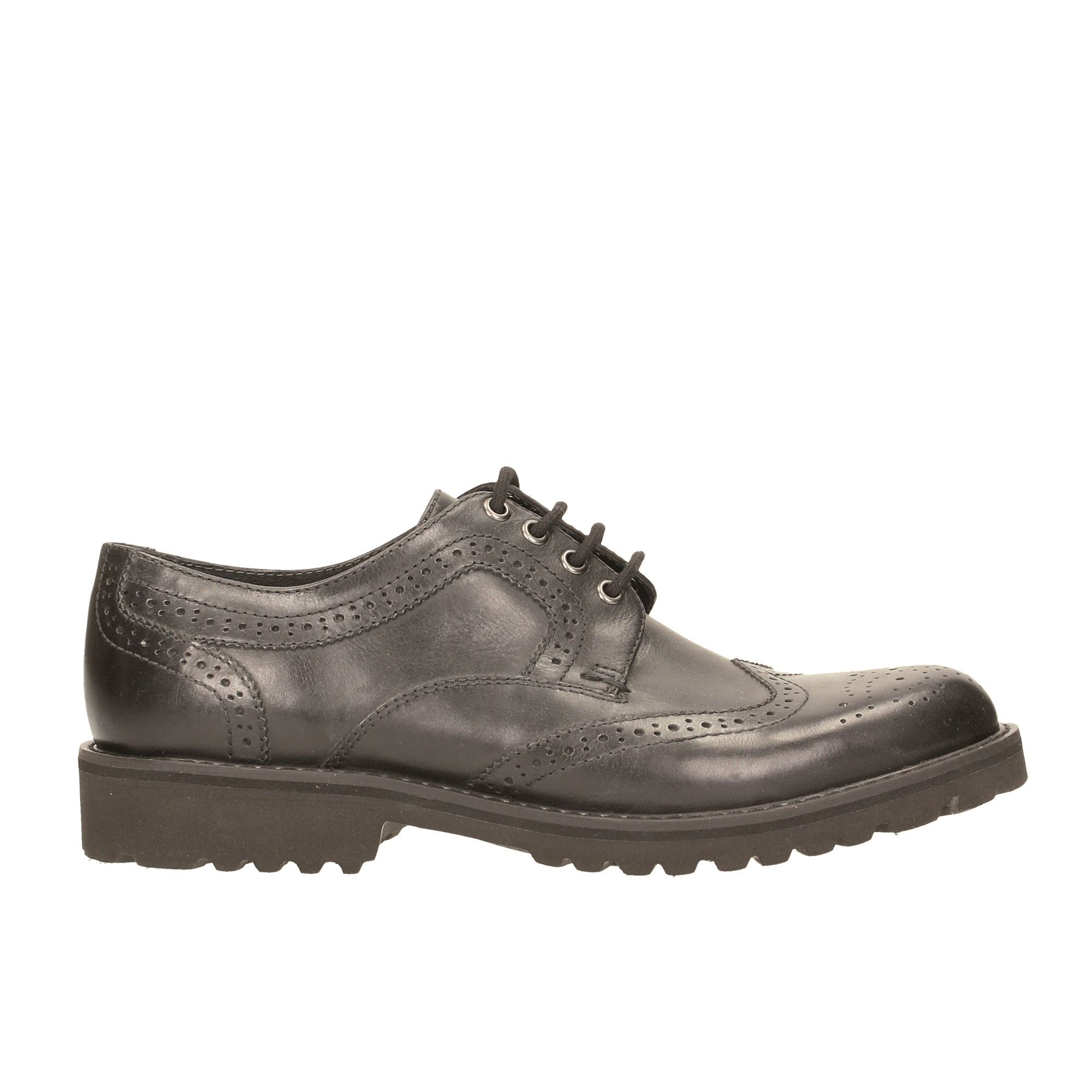 Tata Italia Shoes Man Derby Nero MS-229R12/I17