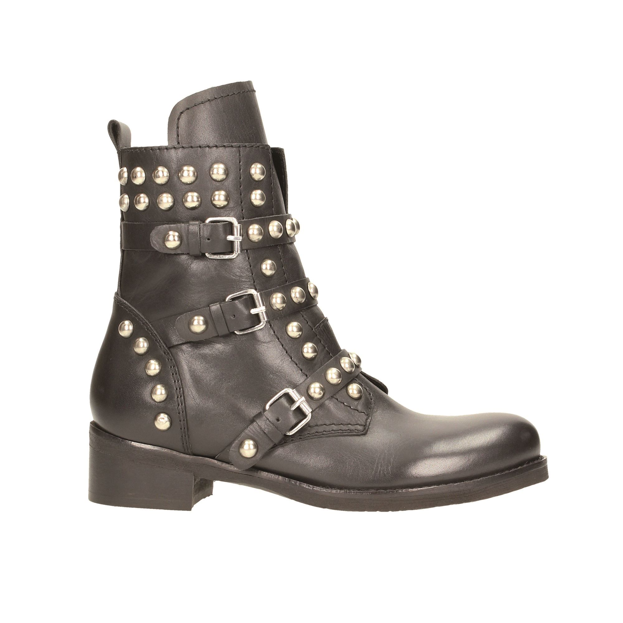 Tata Italia Shoes Woman Stivaletti Black BH-50-1/S