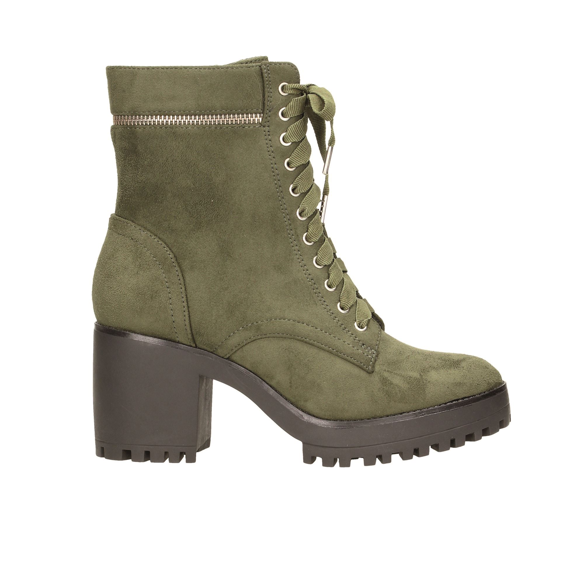 Tata Italia Shoes Woman Stivaletti Olive 26# A5204