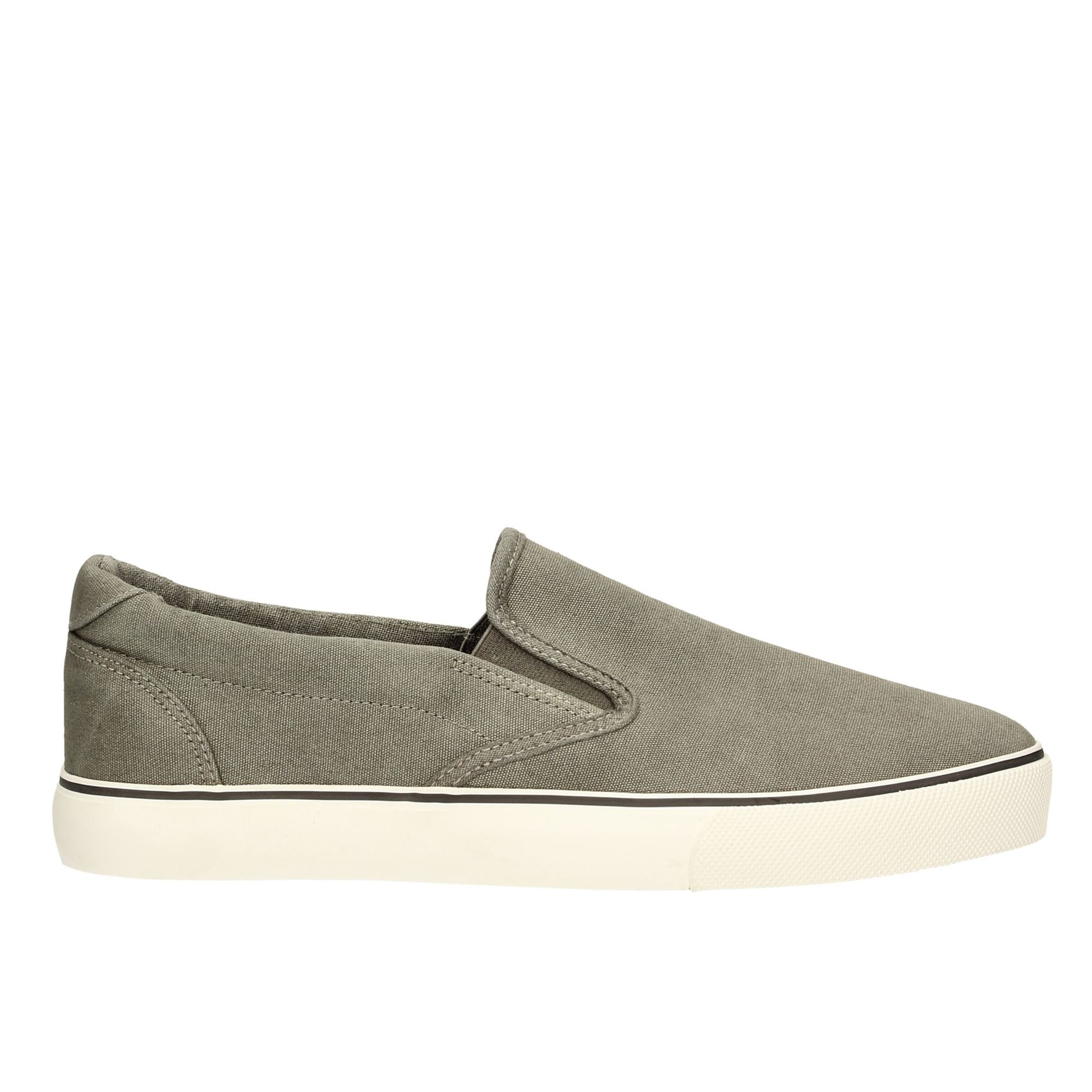 Tata Italia Shoes Man Slip On Grey GCM17-011