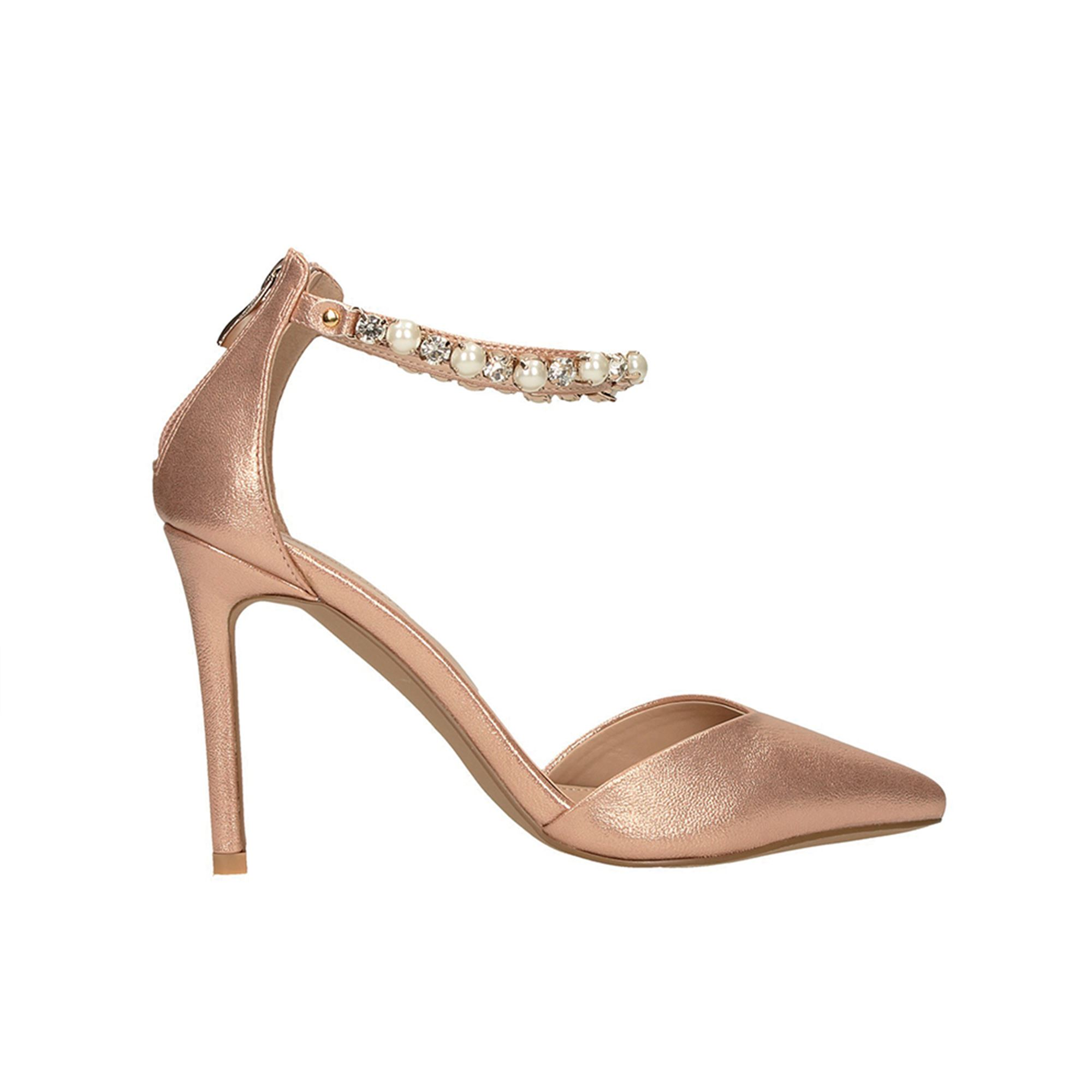 Tata Italia Shoes Woman Décolleté Rose/gold 9206A-15