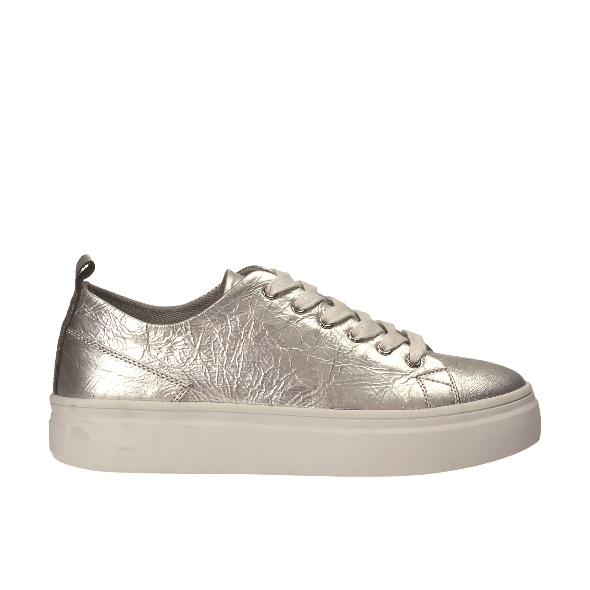 Tata Italia Shoes Woman Sneakers Silver 892-9