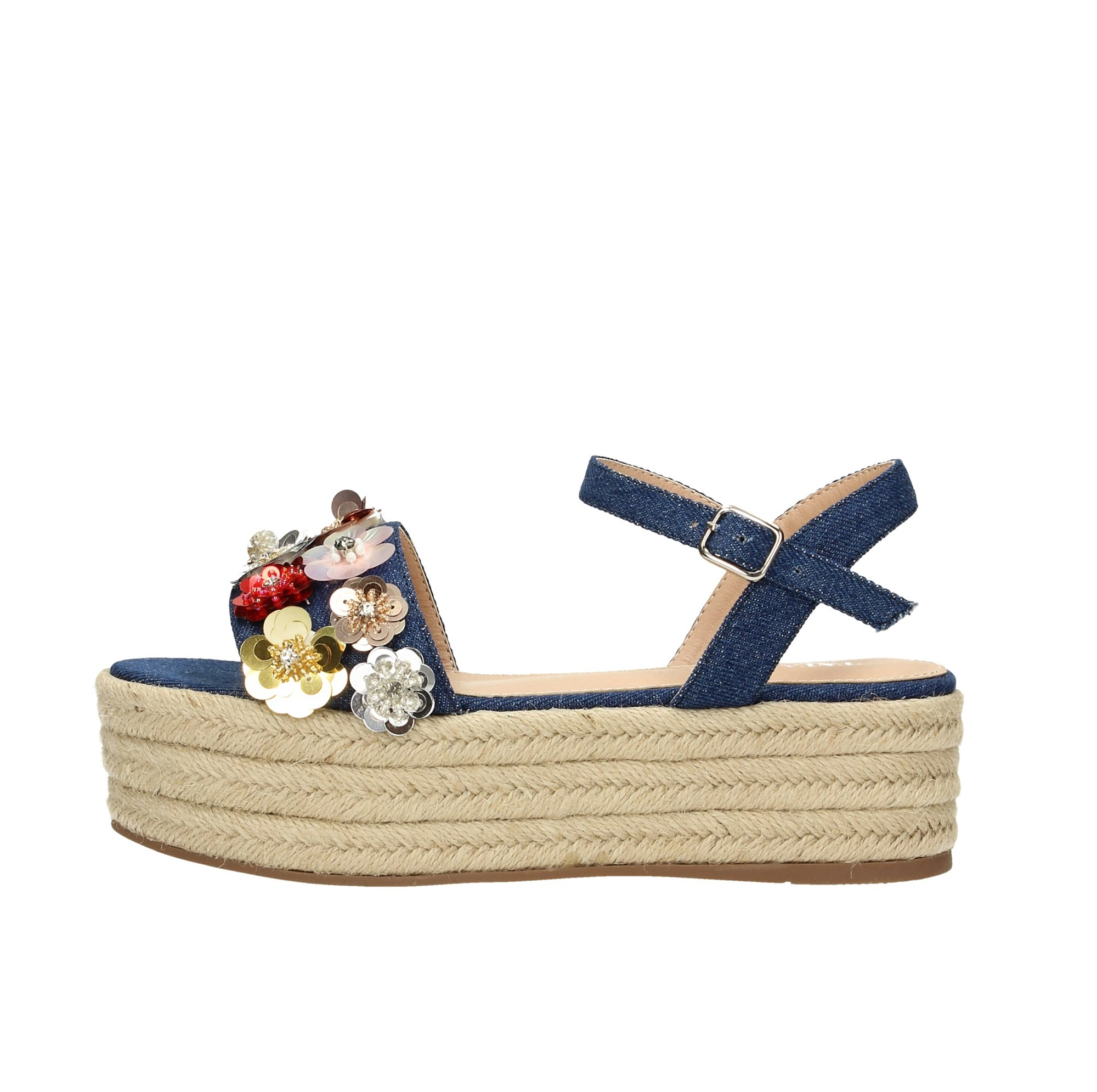 Tata Italia Shoes Woman Sandali Blue DS543-16B