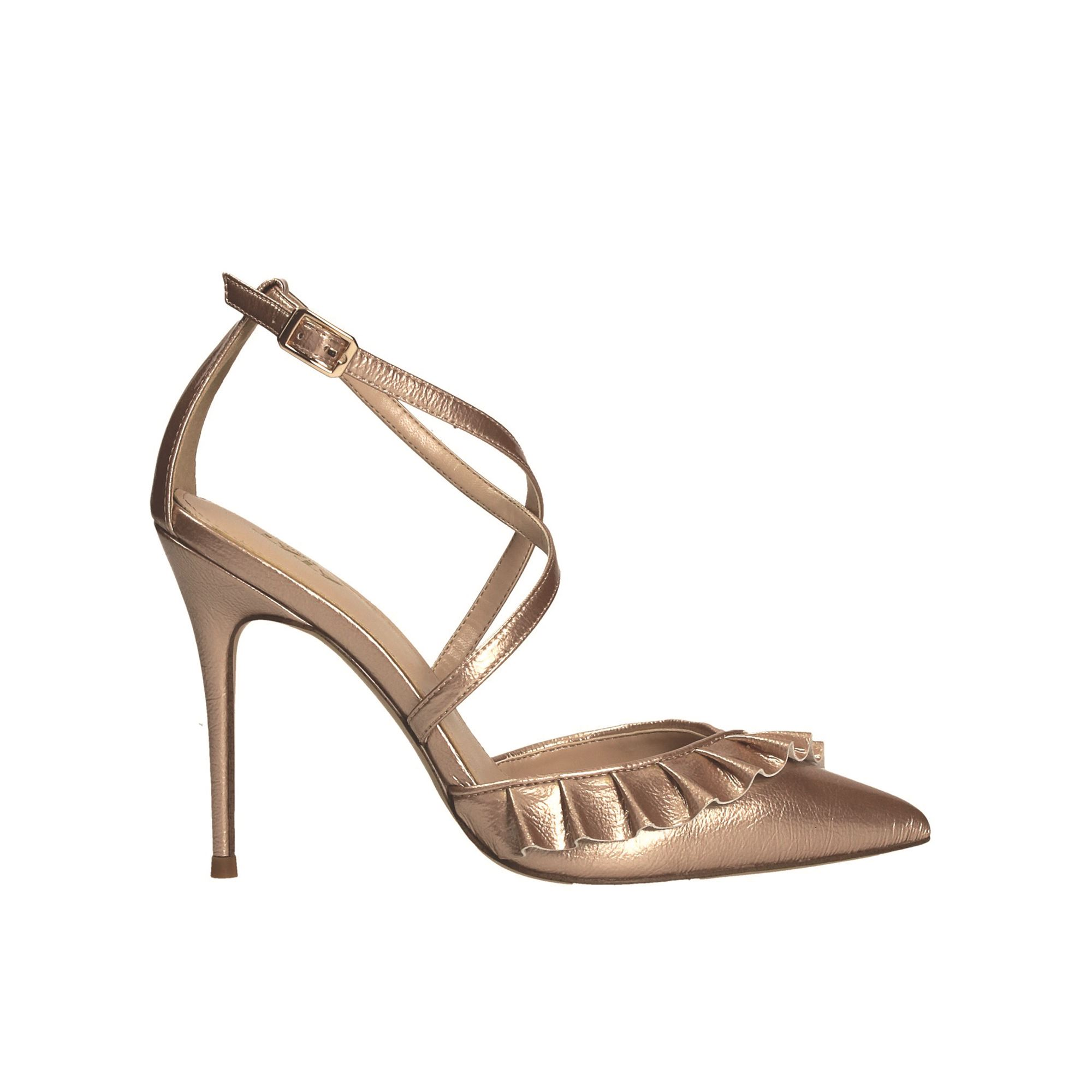 Tata Italia Shoes Woman Décolleté Champagne LP1051664-5