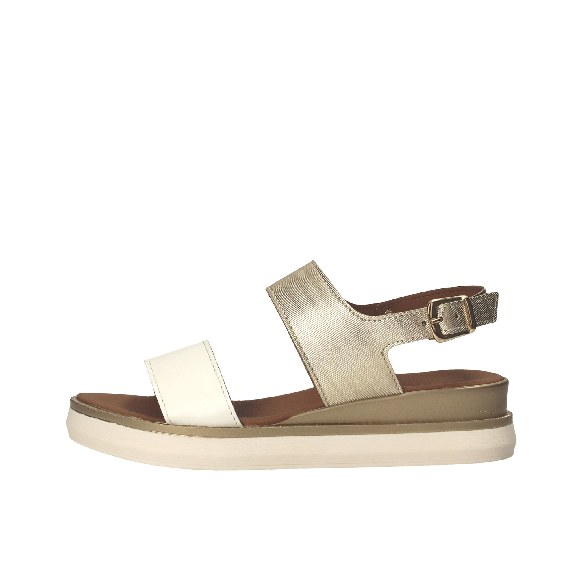 Tata Italia Shoes Woman Sandali White/gold 250-CONC