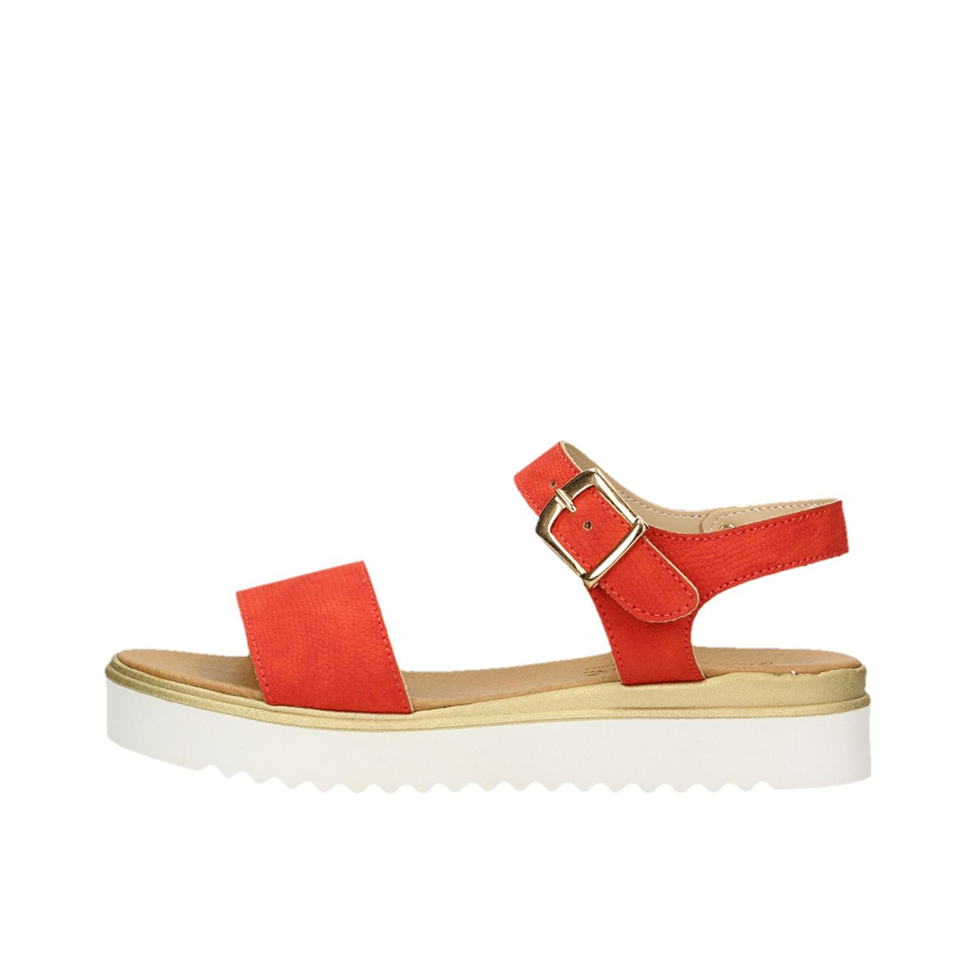 Tata Italia Shoes Woman Sandali Red 433-6147