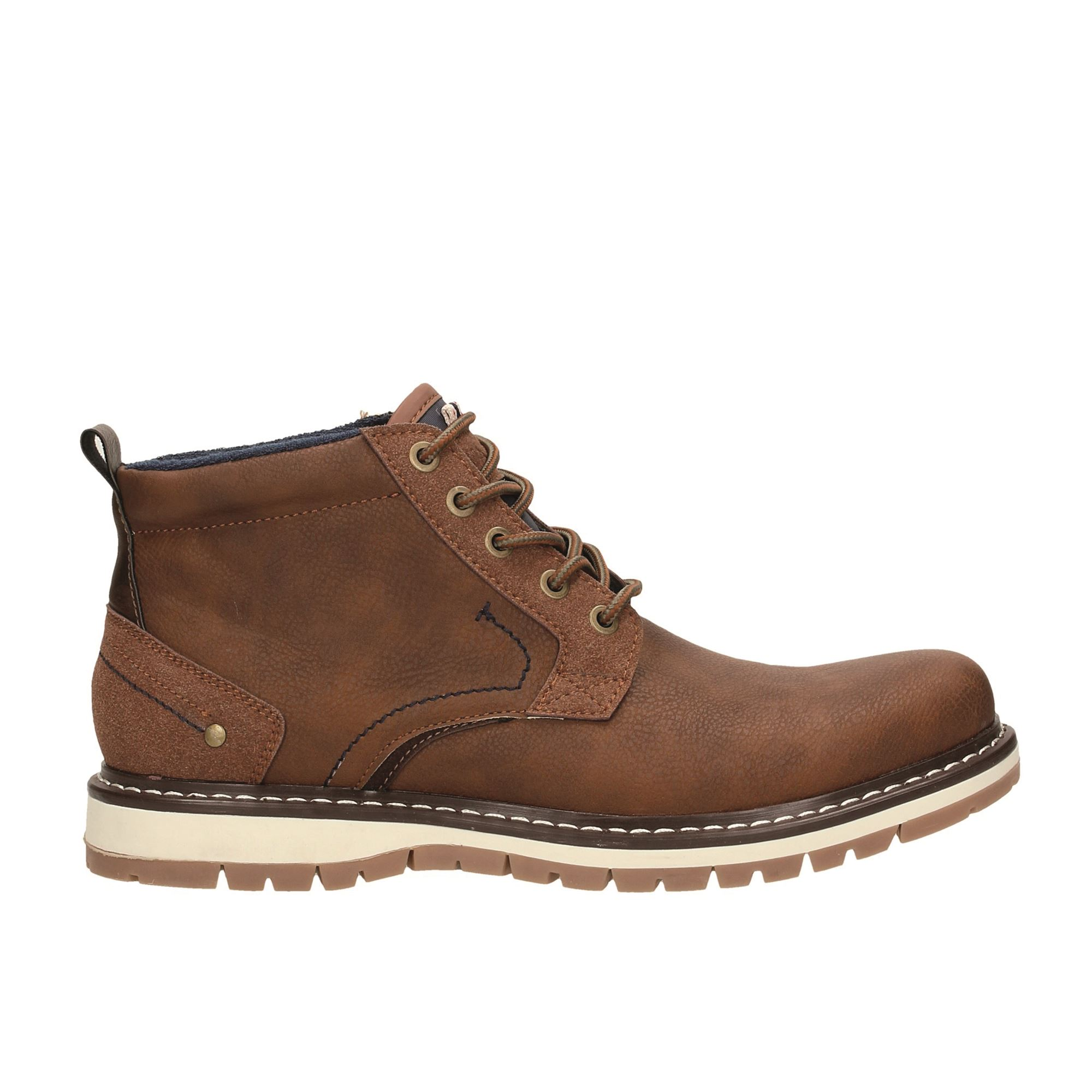 Tata Italia Shoes Man Stivaletti Brown KMS7657
