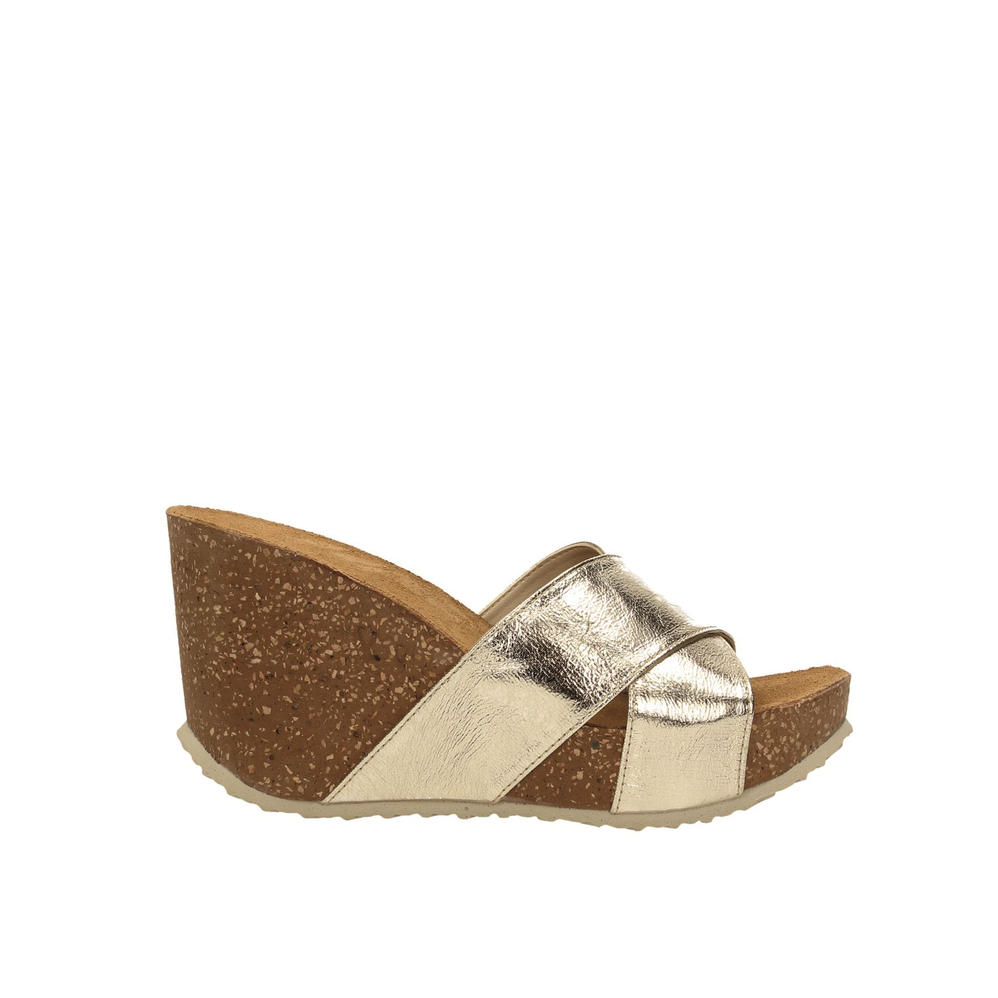 Tata Italia Shoes Woman Sandali Gold 141150