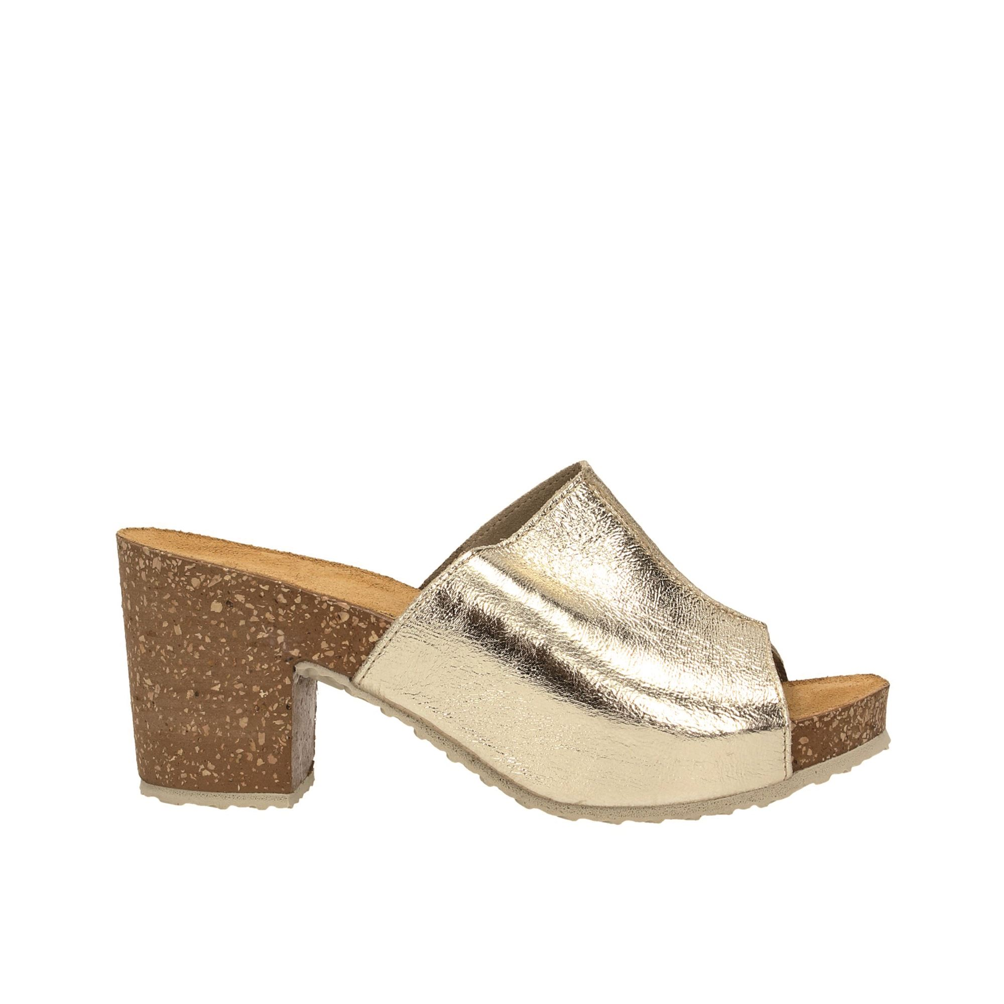 Tata Italia Shoes Woman Sandali Gold 281220