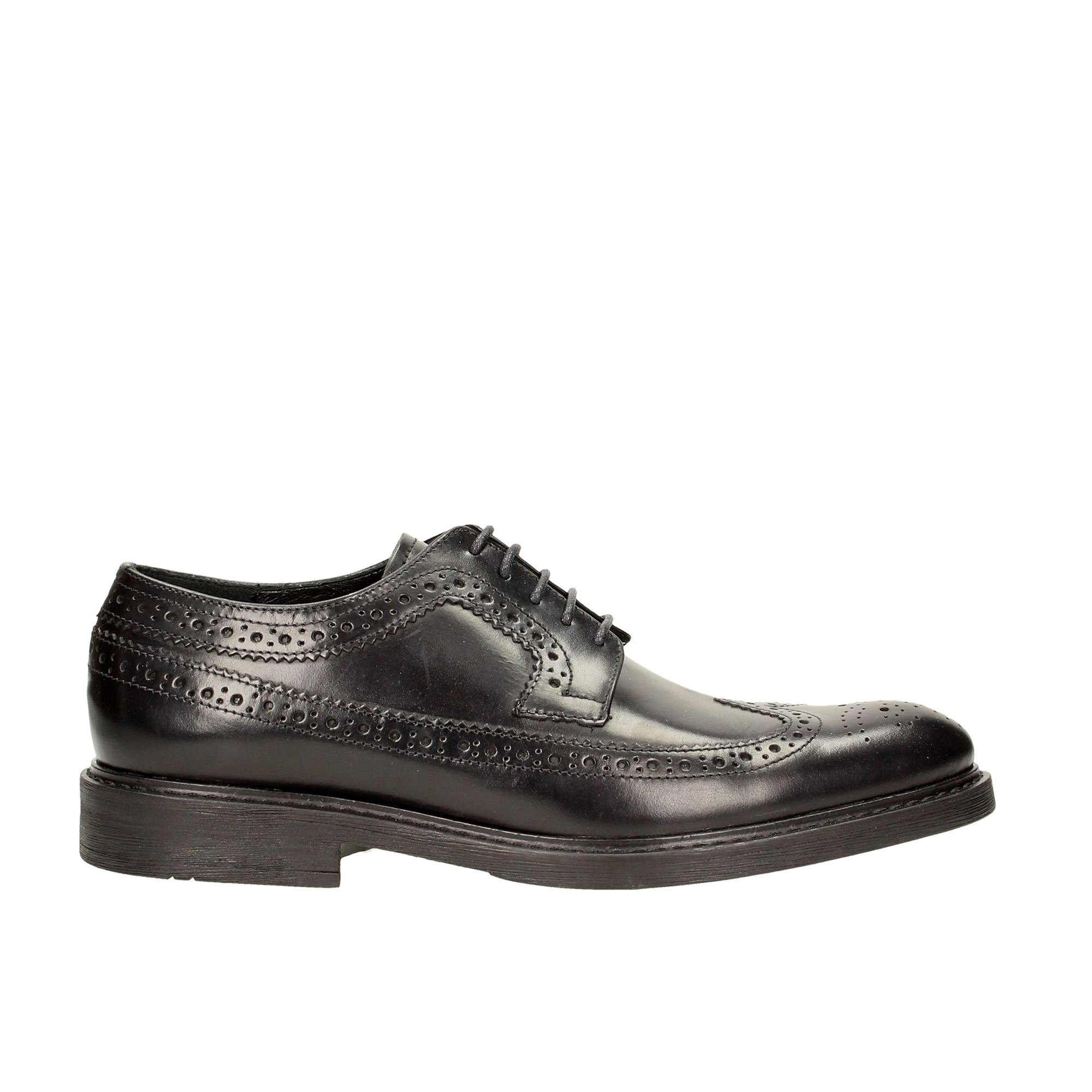 Tata Italia Shoes Man Derby Black 8-05-25-C