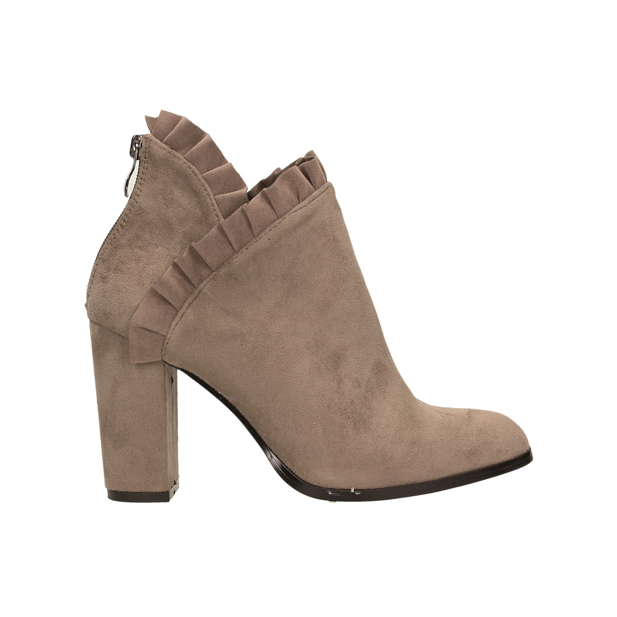 Tata Italia Shoes Woman Stivaletti Taupe 1874X-110