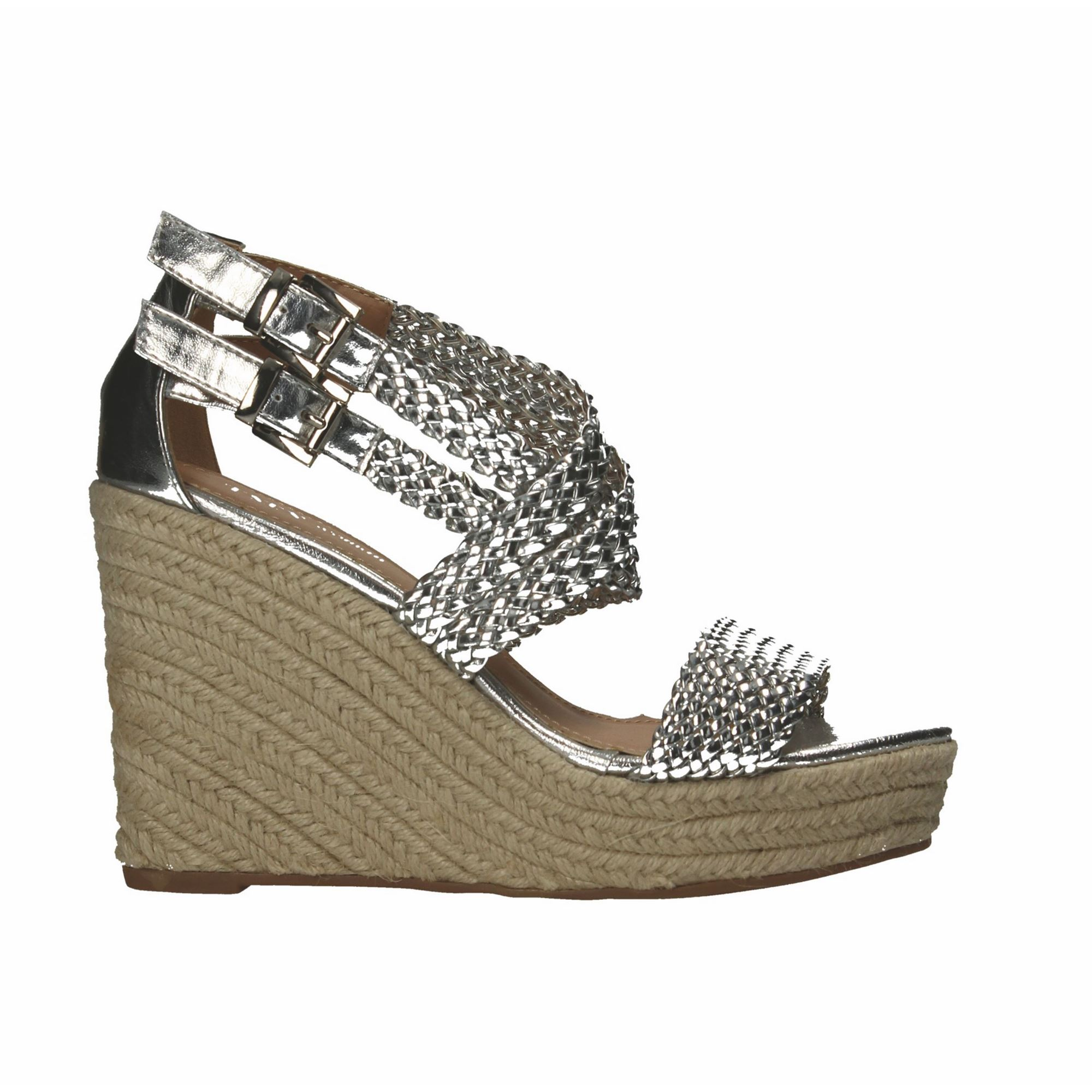 Tata Italia Shoes Woman Sandali Silver JO-4-96