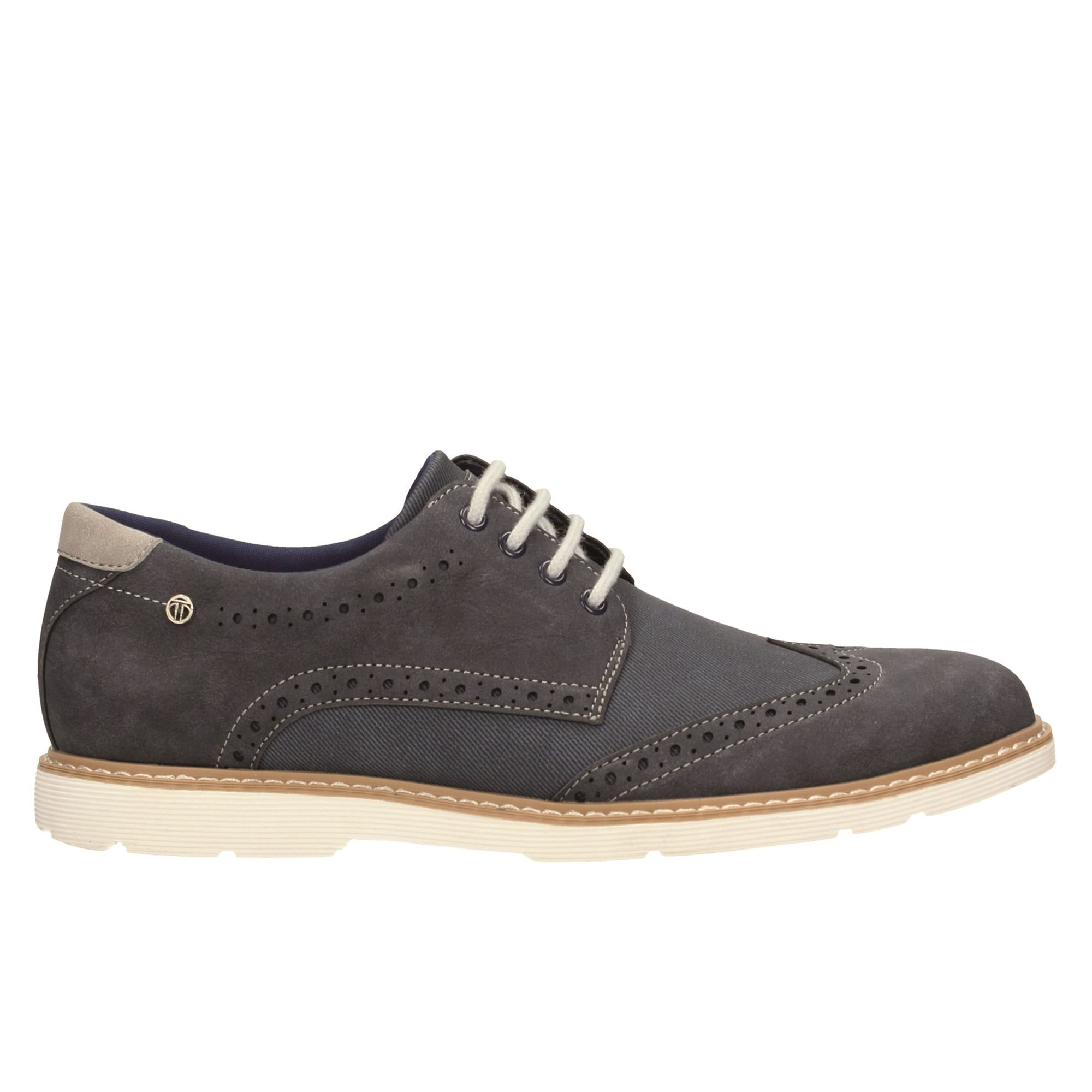Tata Italia Shoes Man Derby Navy 805107