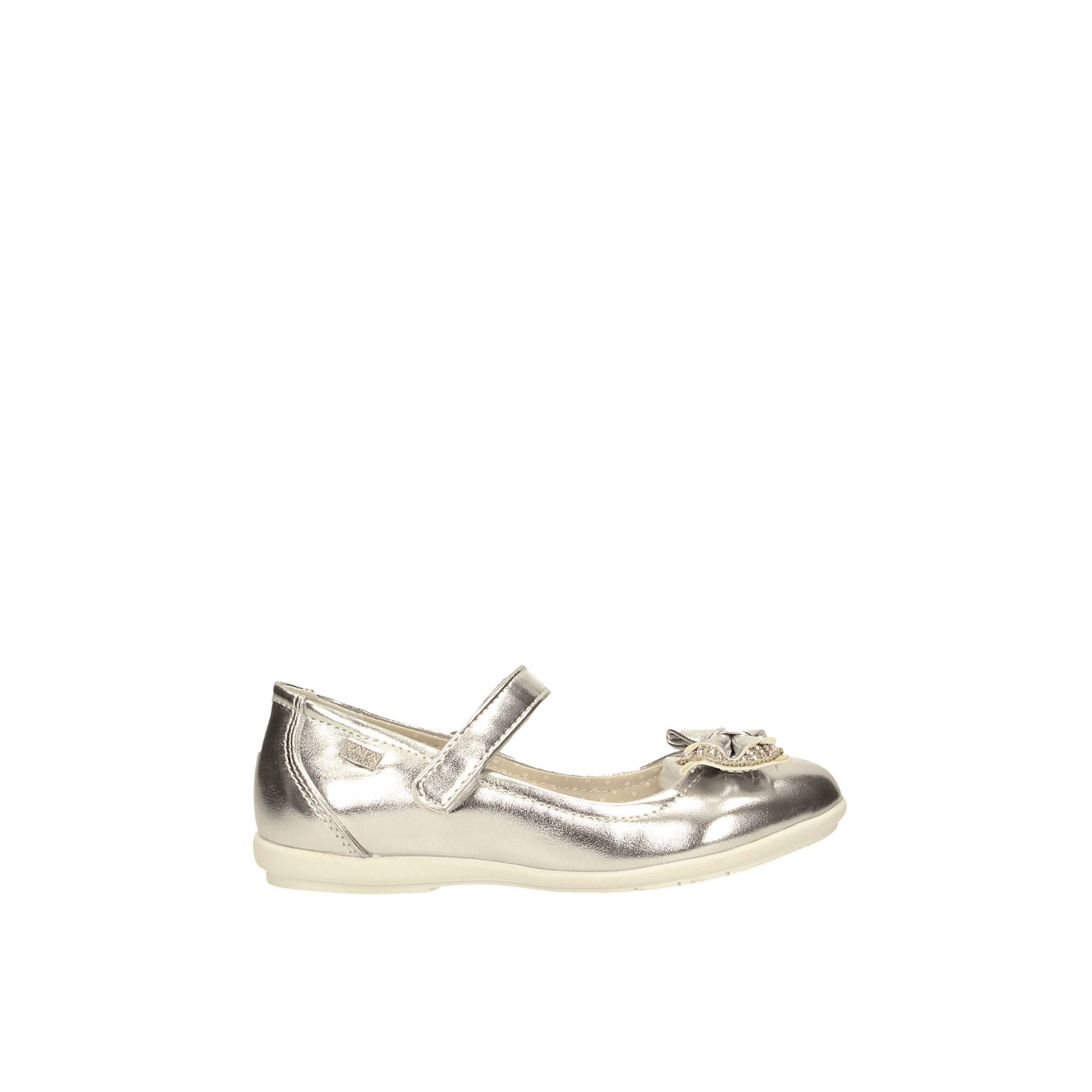 Tata Italia Shoes Junior Ballerine Silver S19-9901-24