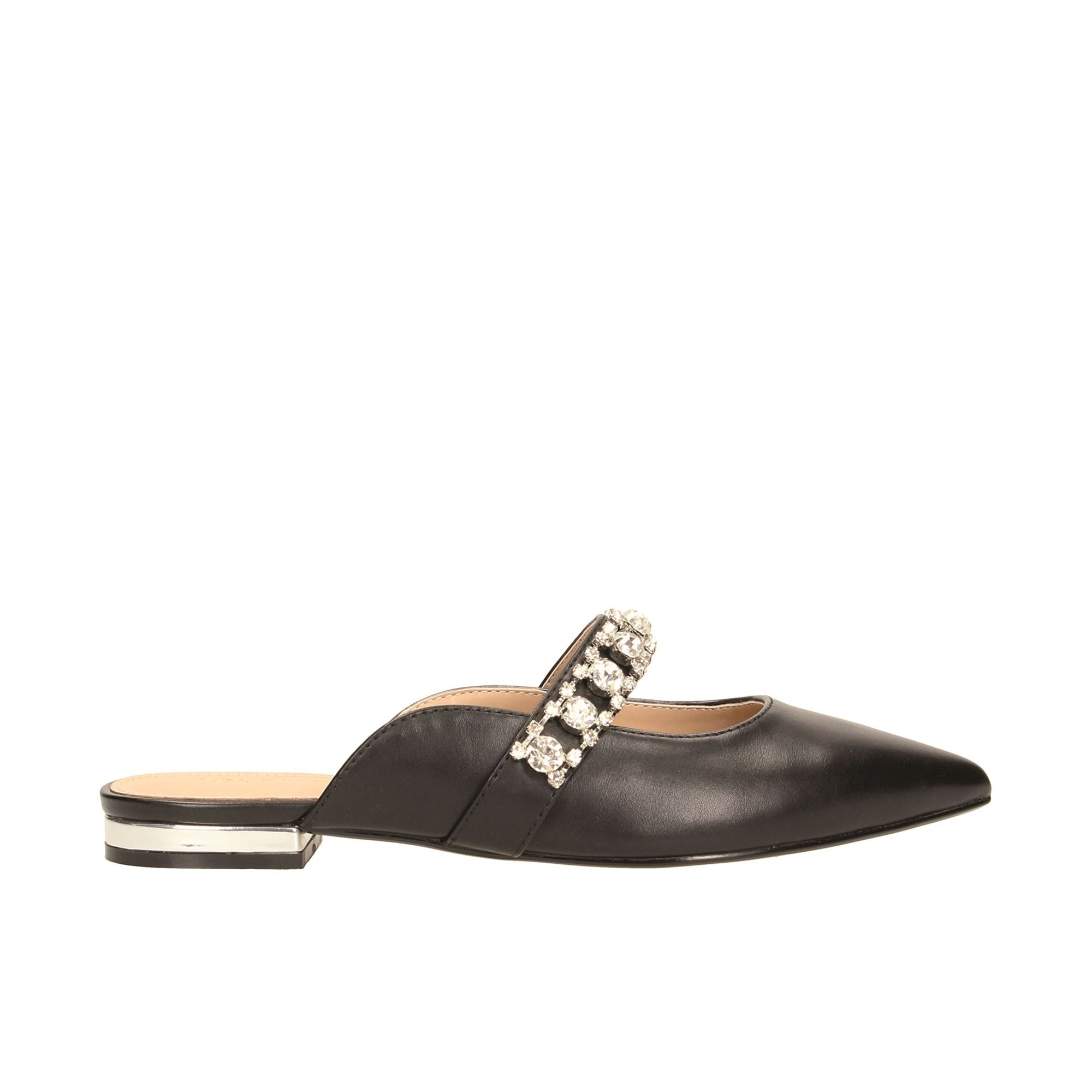 Tata Italia Shoes Woman Sabot Black 1949A-9
