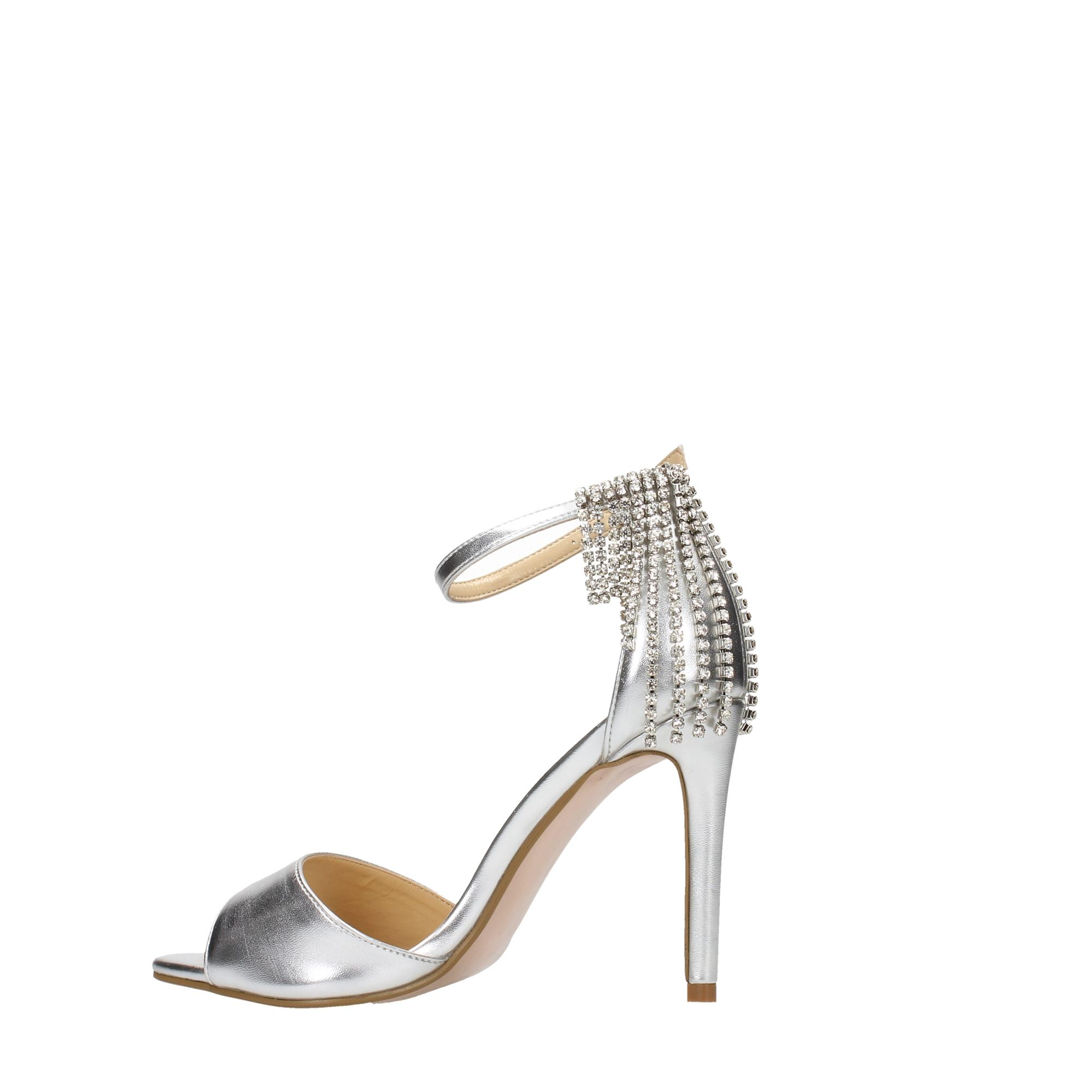 Tata Italia Shoes Woman Sandali Silver WS5115