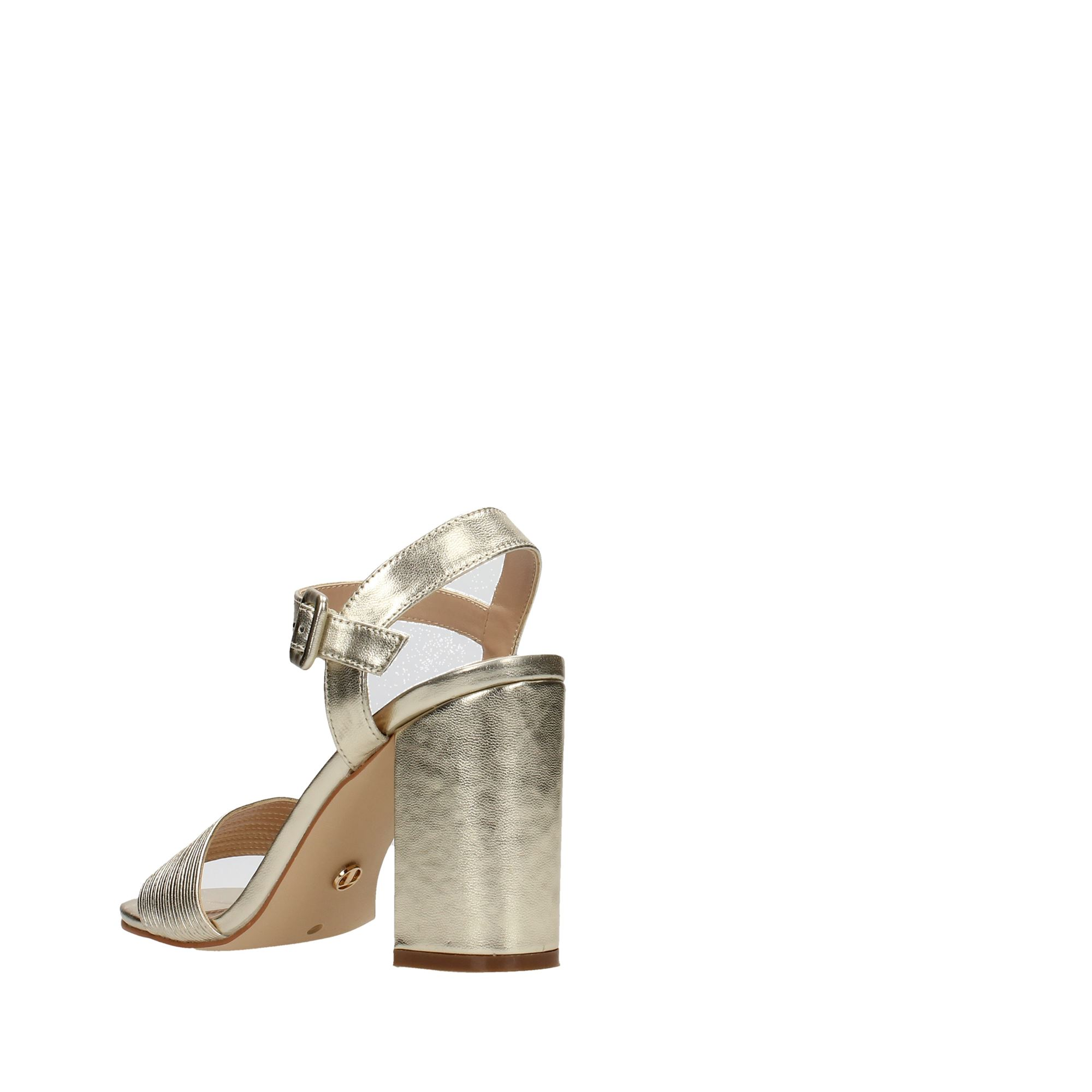Tata Italia Shoes Woman Sandali Gold DS630-16