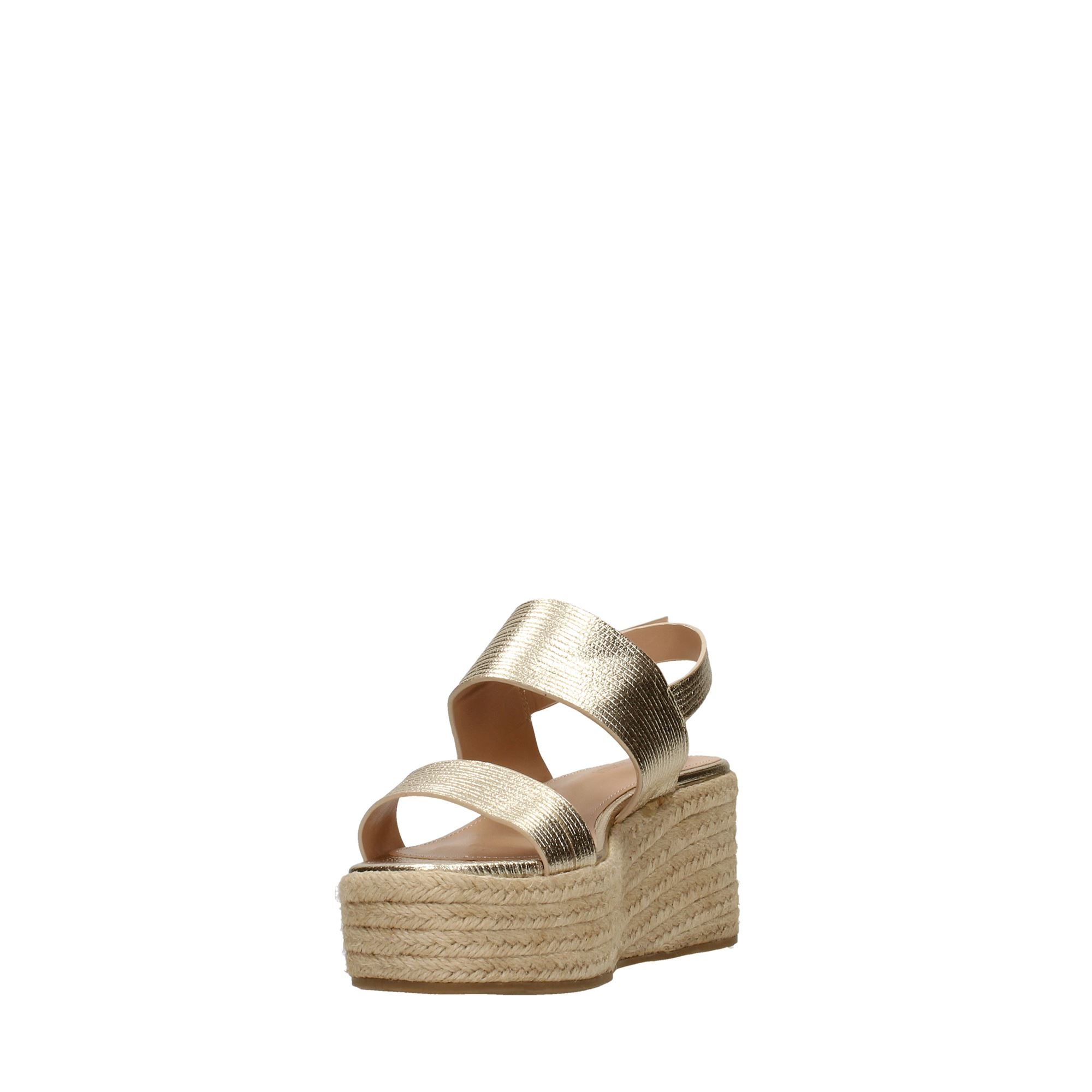 Tata Italia Shoes Woman Sandali Gold DS815-7