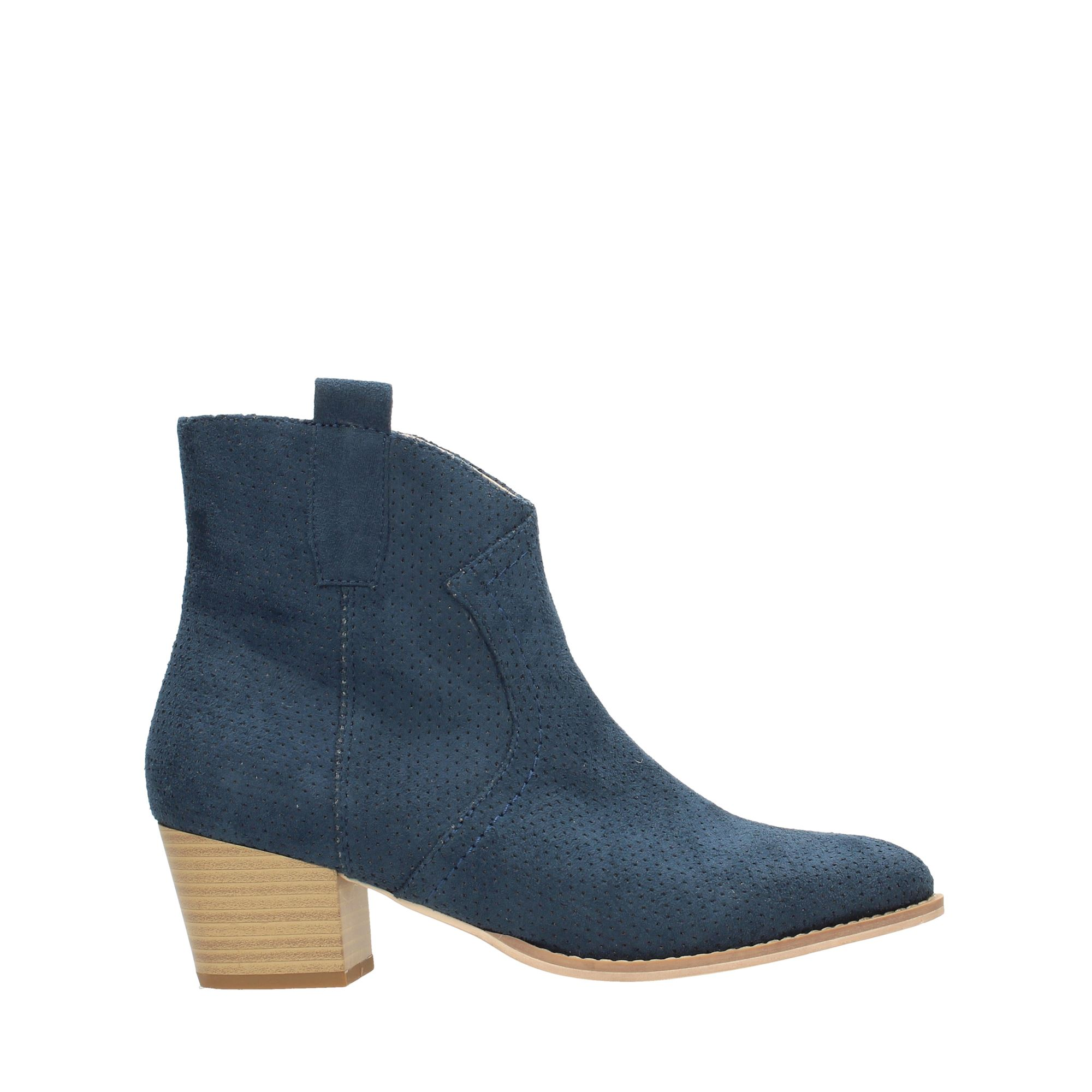 Tata Italia Shoes Woman Stivaletti Blue 55KLT05