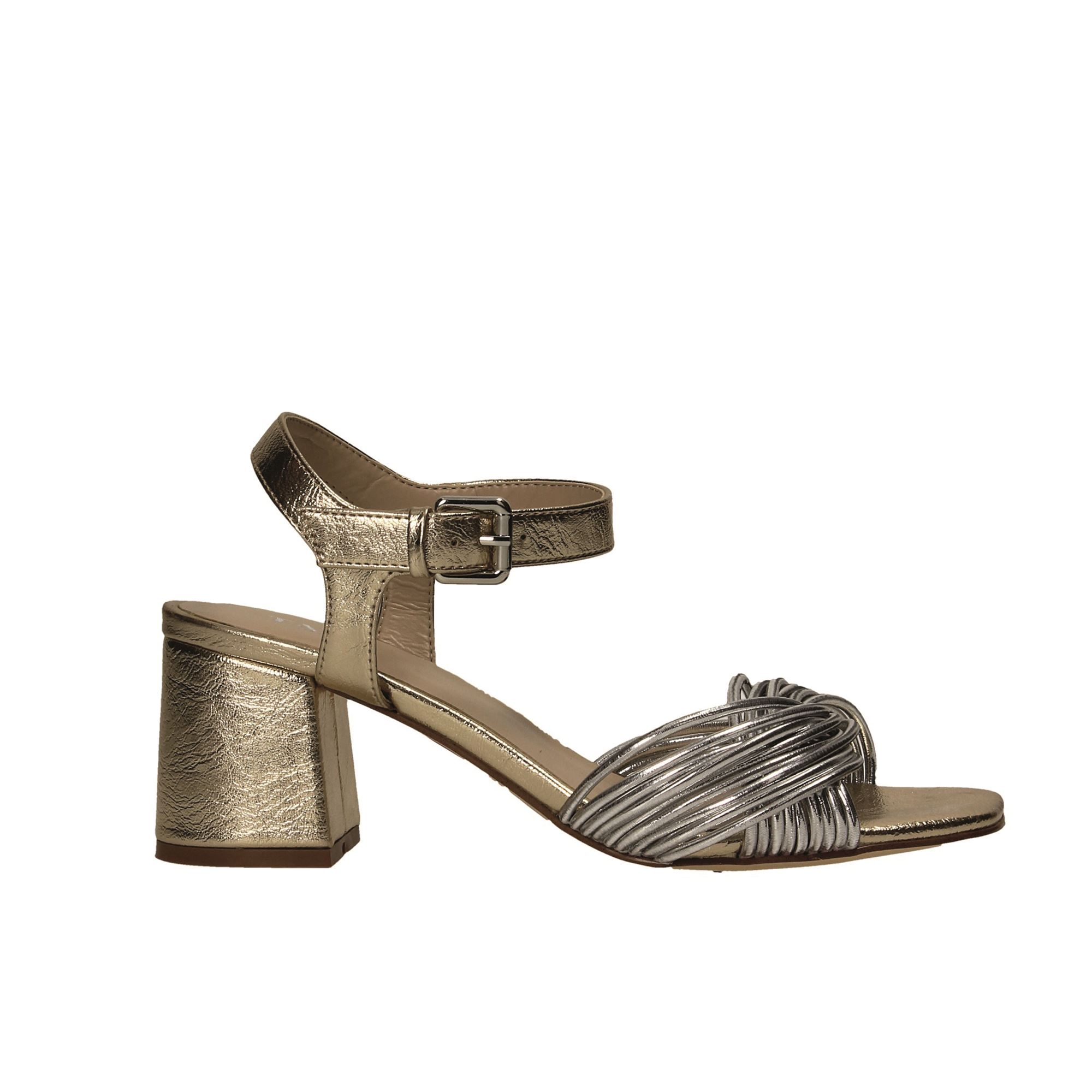 Tata Italia Shoes Woman Sandali Gold LS603464-19