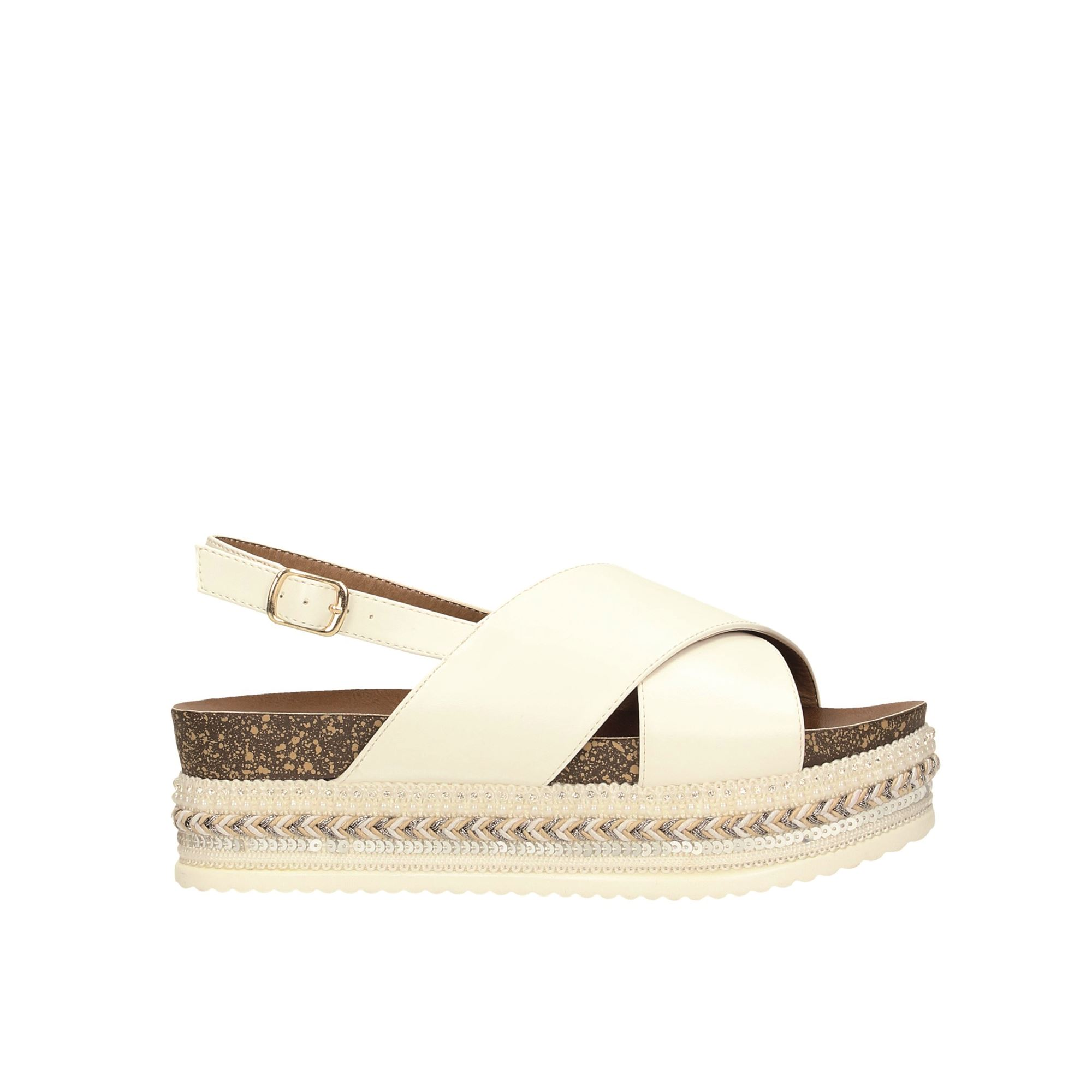 Tata Italia Shoes Woman Sandali White 6436