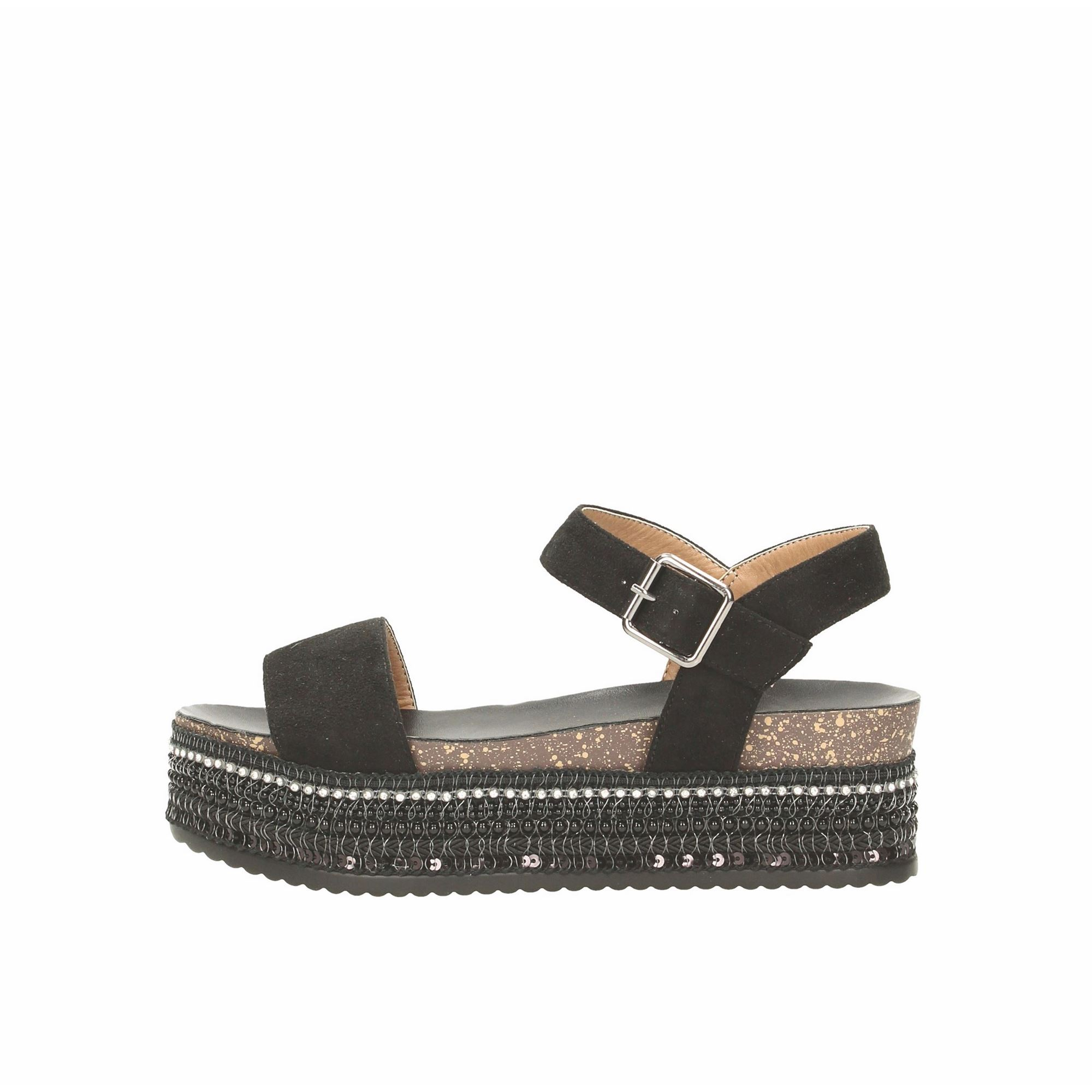 Tata Italia Shoes Woman Sandali Black 6438
