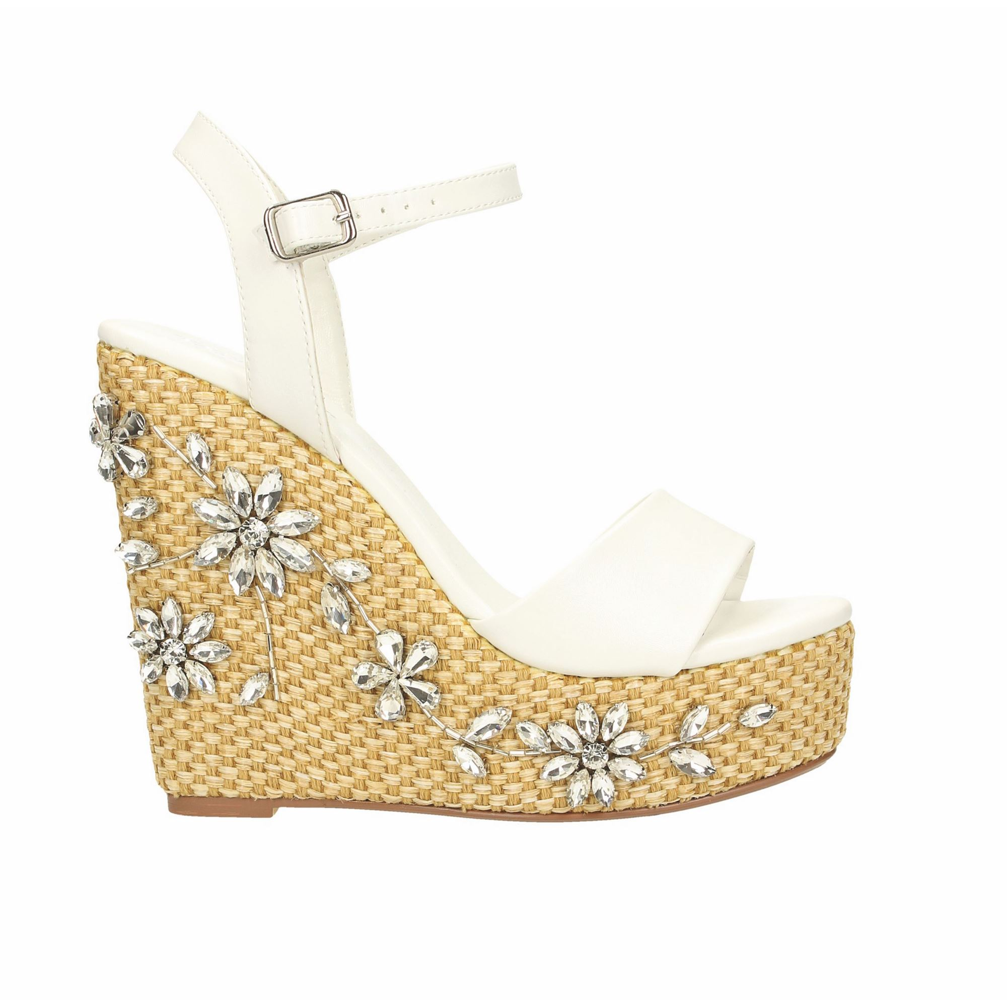 Tata Italia Shoes Woman Sandali White 6471