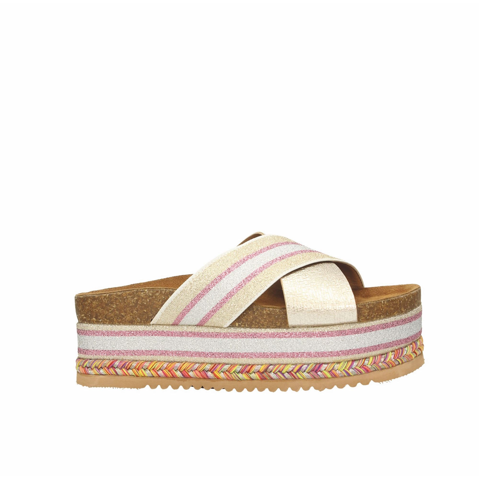 Tata Italia Shoes Woman Sandali Gold 16103-31