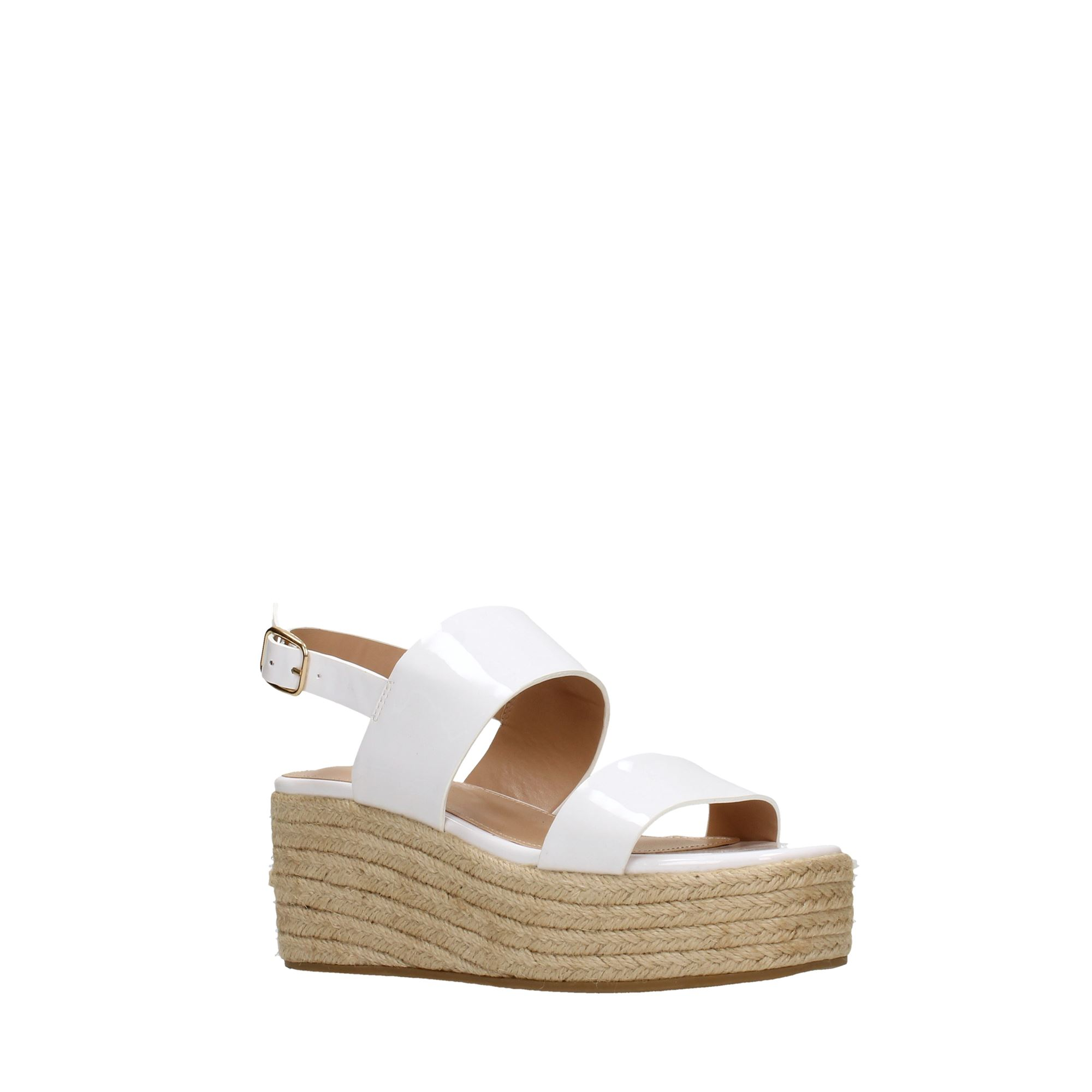 Tata Italia Shoes Woman Sandali White DS815-7-P