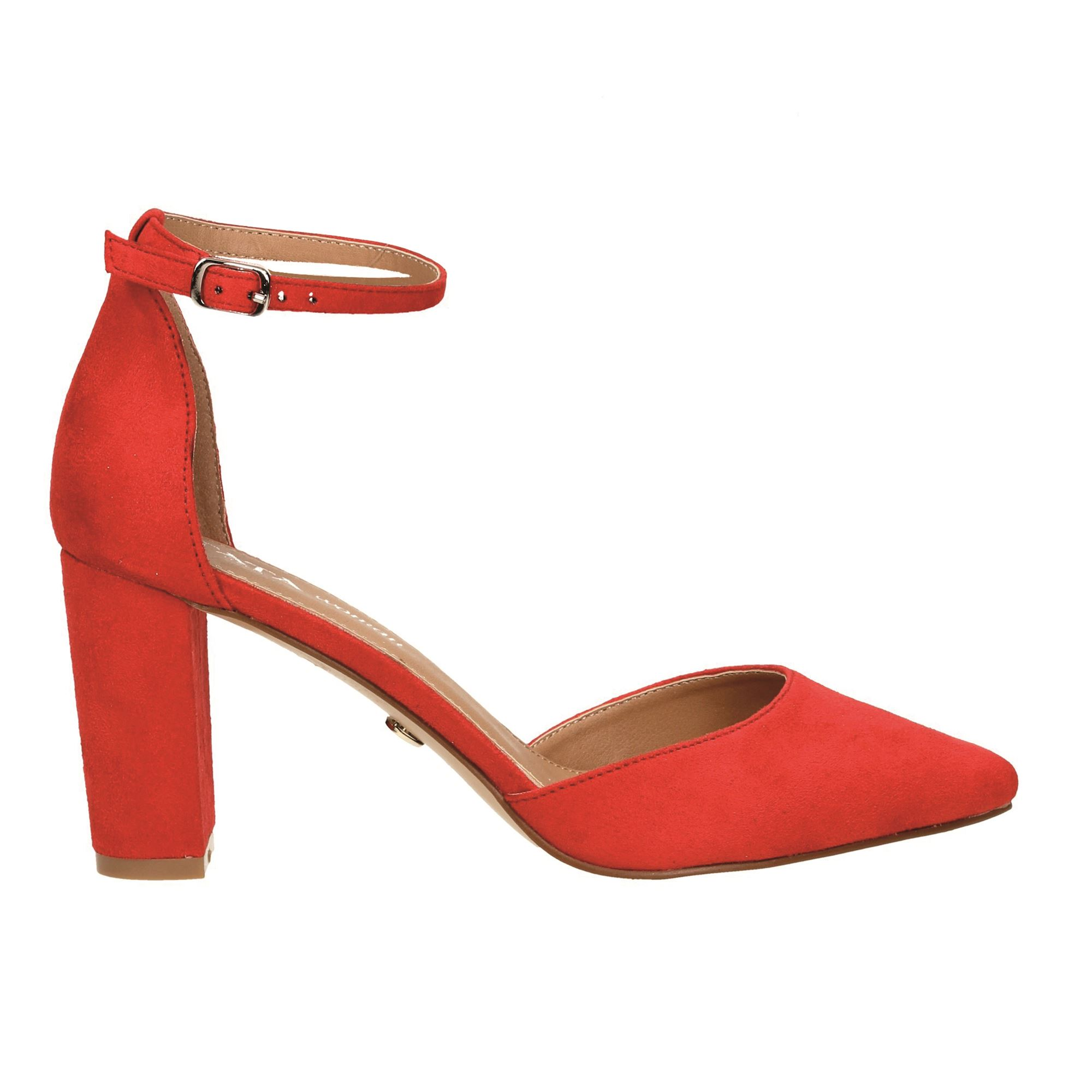 Tata Italia Shoes Woman Décolleté Red 35082-1