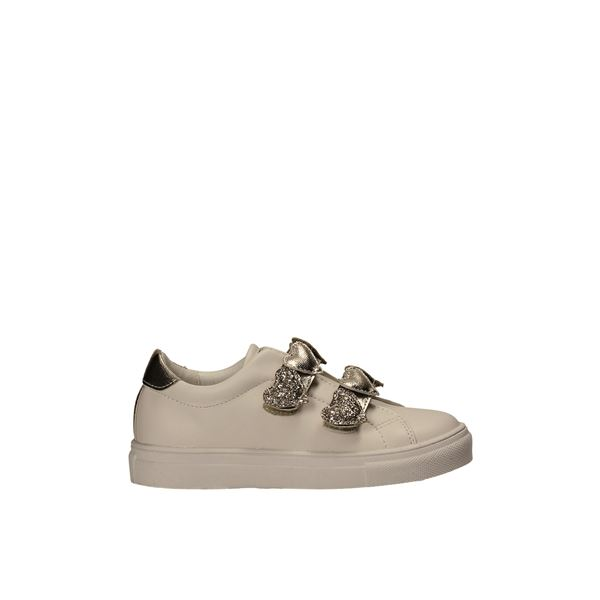 245-003 Sneakers White/gold