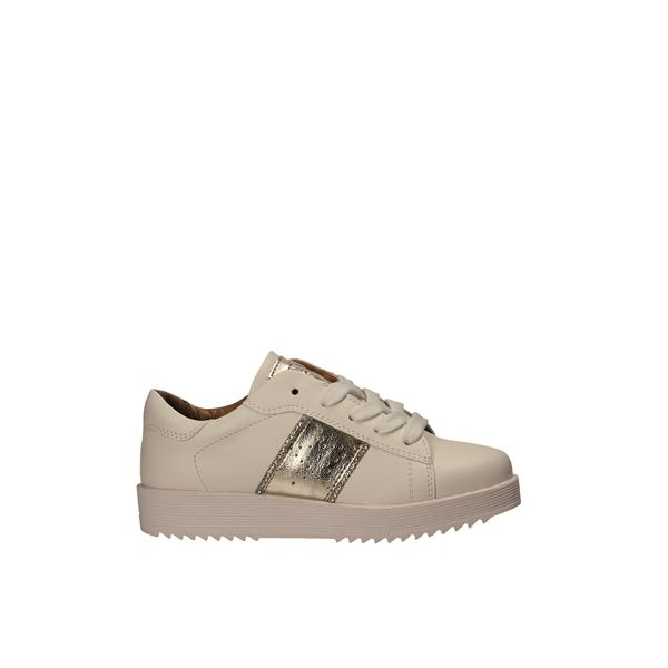 198-074 Sneakers White/gold