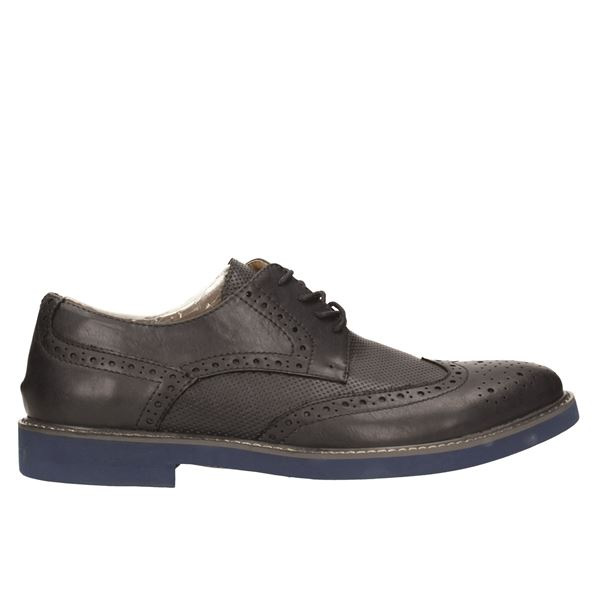 L18001-2 Derby Navy/blue