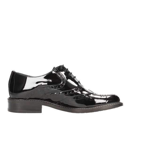 Tata Italia Shoes Woman Derby Nero 5019-5202