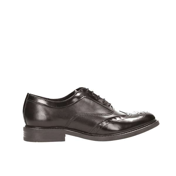 Tata Italia Shoes Woman Derby Nero BZ1302