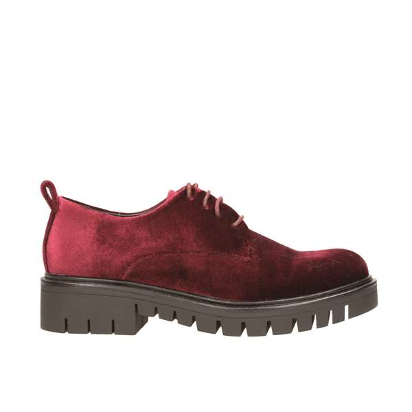 Tata Italia Shoes Woman Derby Bordeaux 3190