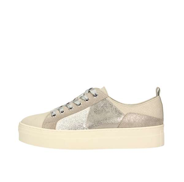 Tata Italia Shoes Woman Sneakers Silver WS-204R06
