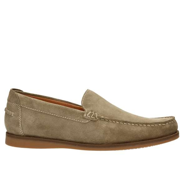 Tata Italia Shoes Man Mocassini Beige MM-306R04