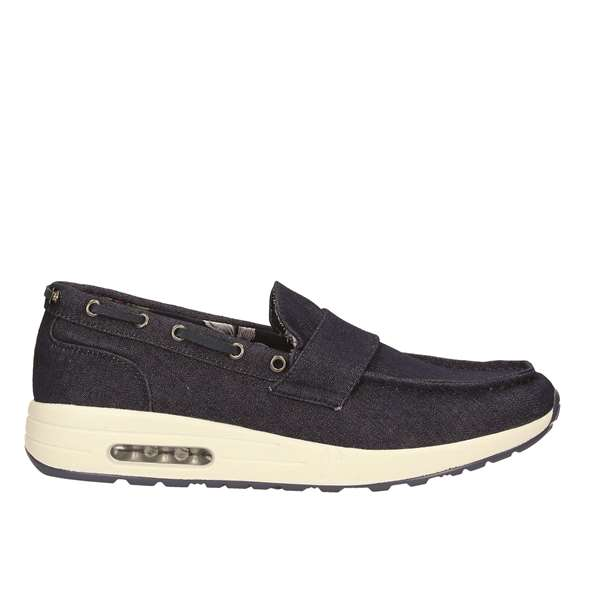 Tata Italia Shoes Man Mocassini Navy 160C
