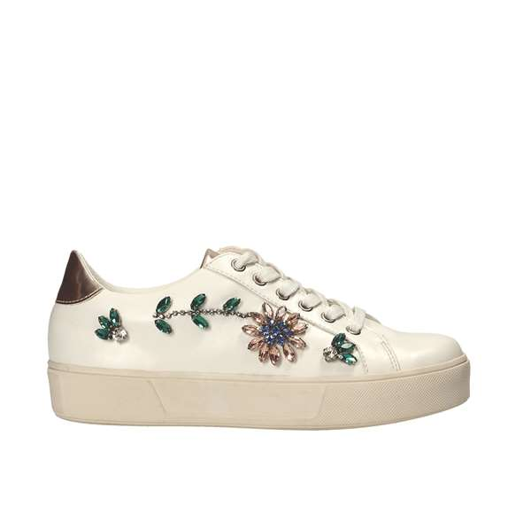 Tata Italia Shoes Woman Sneakers White CH459C-37