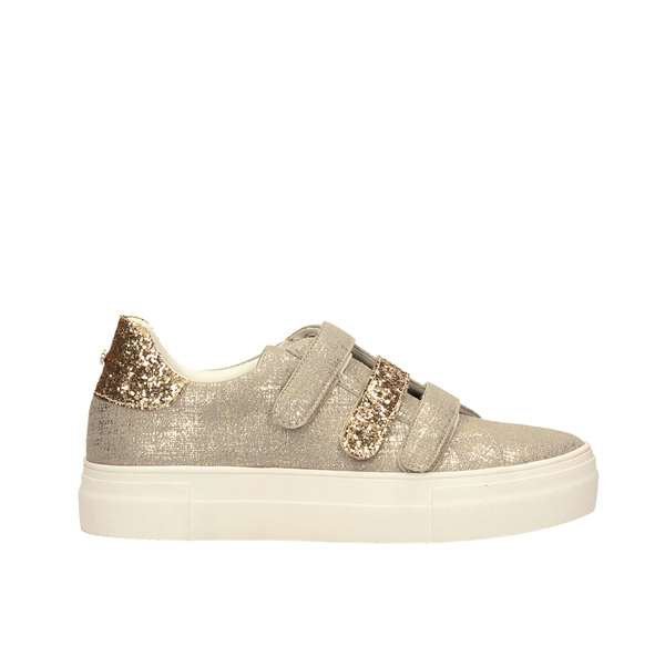 Tata Italia Shoes Woman Sneakers Gold T18141