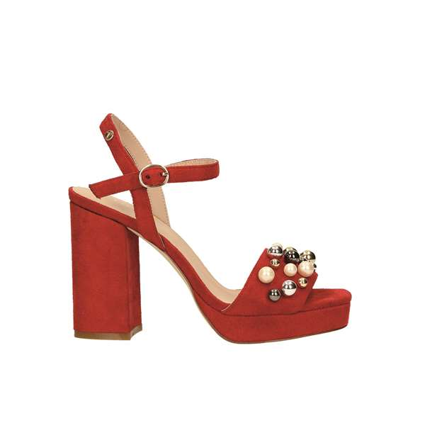 Tata Italia Shoes Woman Sandali Red L1815-X10