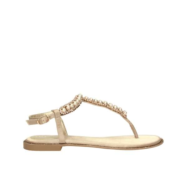 Tata Italia Shoes Woman Sandali Gold 9470L-3