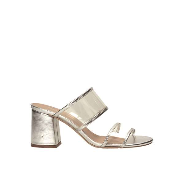 Tata Italia Shoes Woman Sandali Silver 1887-9