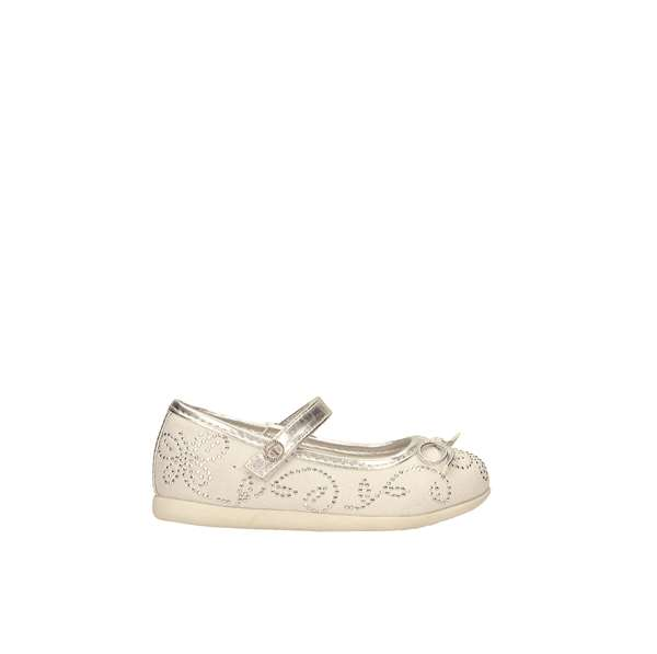 Tata Italia Shoes Junior Ballerine Silver TJ3-18-13