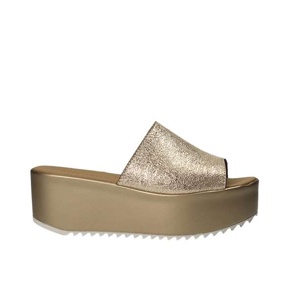 Tata Italia Shoes Woman Sandali Gold 434-06