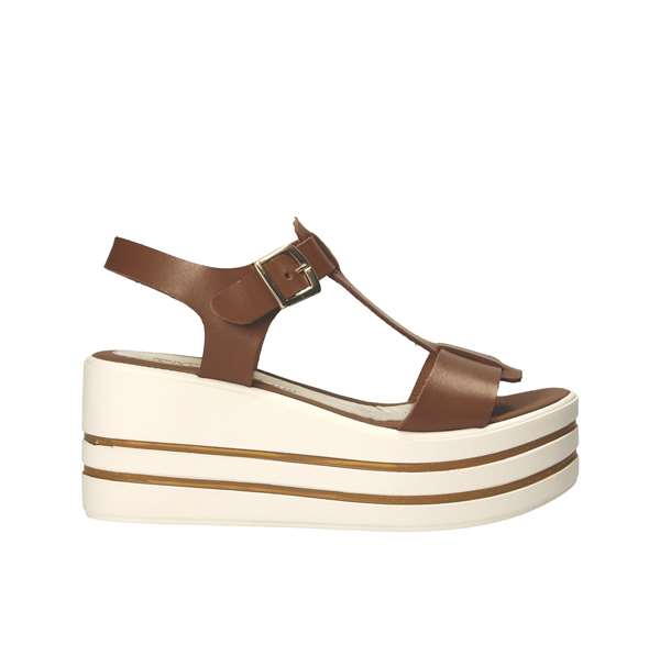 Tata Italia Shoes Woman Sandali Brown 436-72