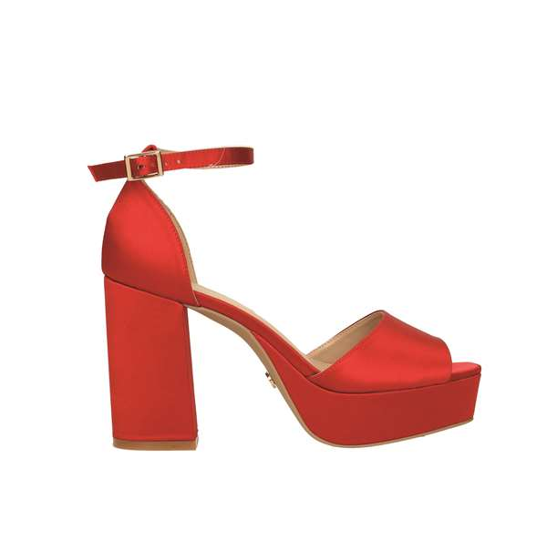Tata Italia Shoes Woman Sandali Red 9474L-6/E19