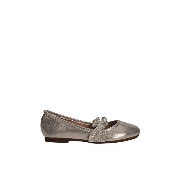 Tata Italia Shoes Junior Ballerine Silver CN127D5